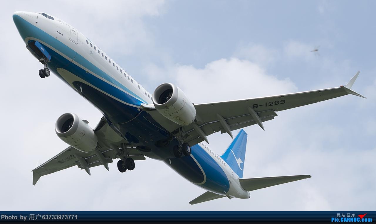 Re:[原创]SHE拍机 BOEING 737MAX-8 B-1289 中国沈阳桃仙国际机场
