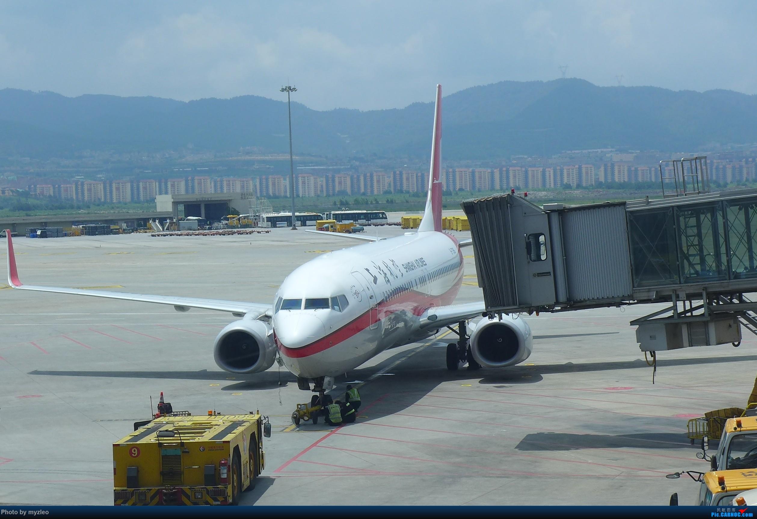 Re:[原创]【myzleo的游记2.1】昆洱风光(1)——SHA-KMG上航商务舱再体验+人在昆明 BOEING 737-800  中国昆明长水国际机场