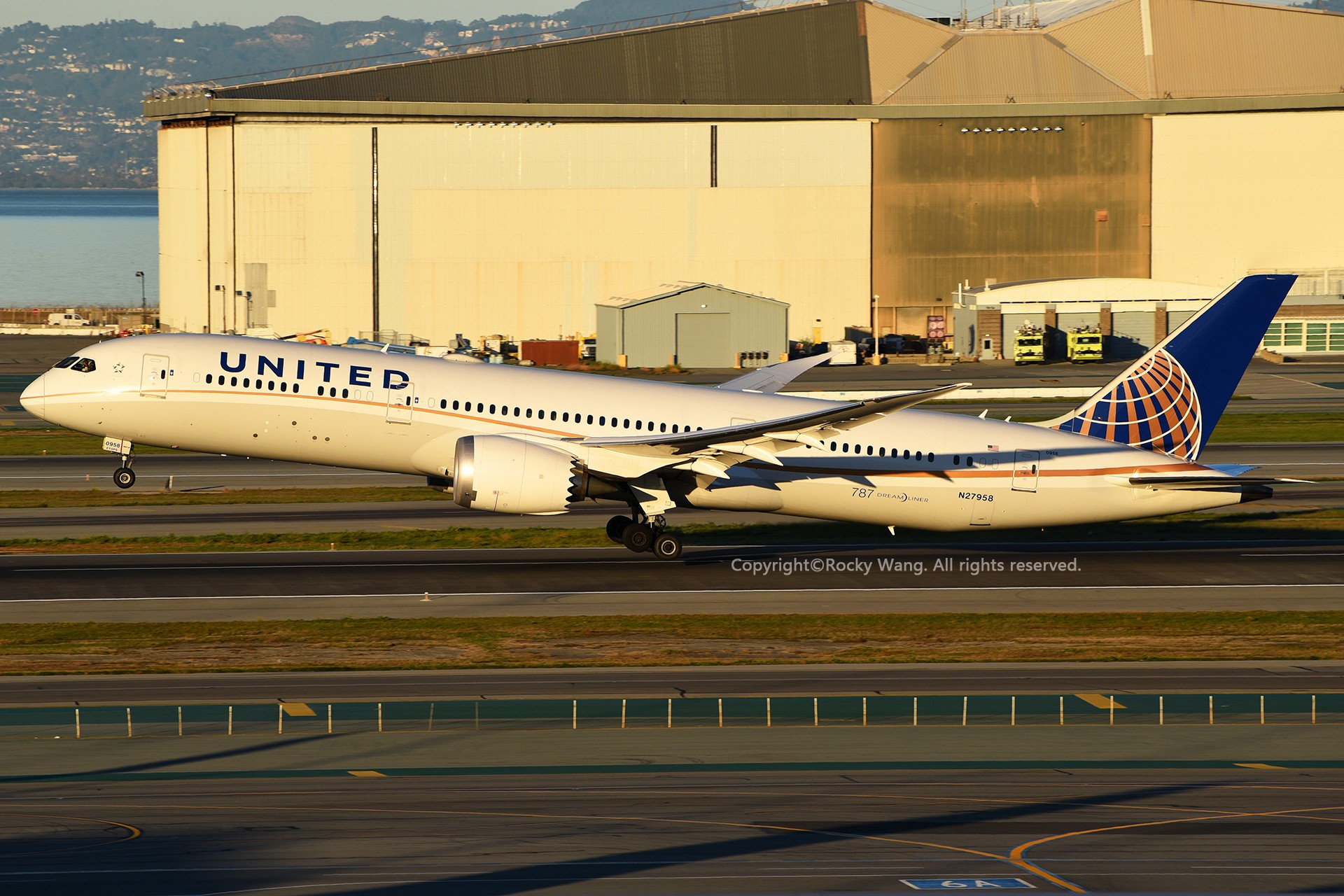 Re:[原创]KSFO 30图 BOEING 787-9 DREAMLINER N27958 San Francisco Int'l Airport