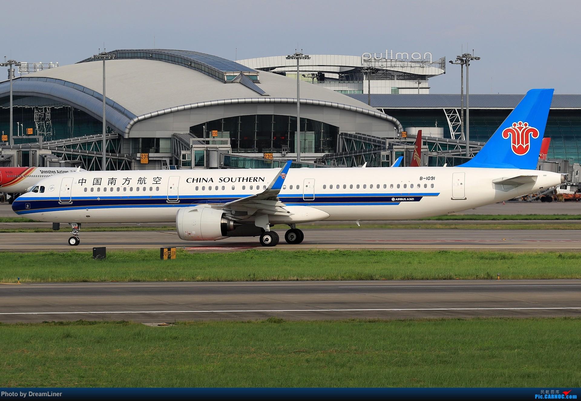Re:[原创]【CAN】(7.17)发点小家伙 AIRBUS A321NEO B-1091 中国广州白云国际机场