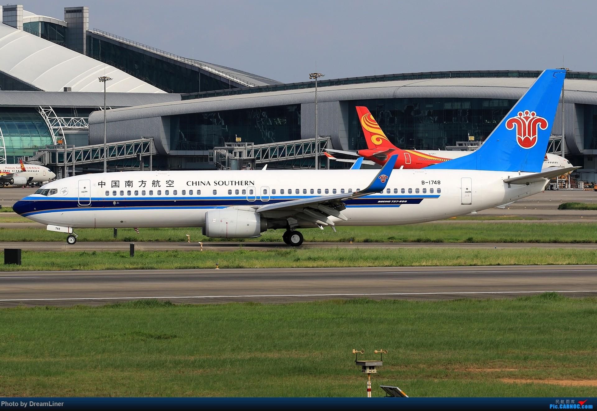 Re:[原创]【CAN】(7.17)发点小家伙 BOEING 737-800 B-1748 中国广州白云国际机场
