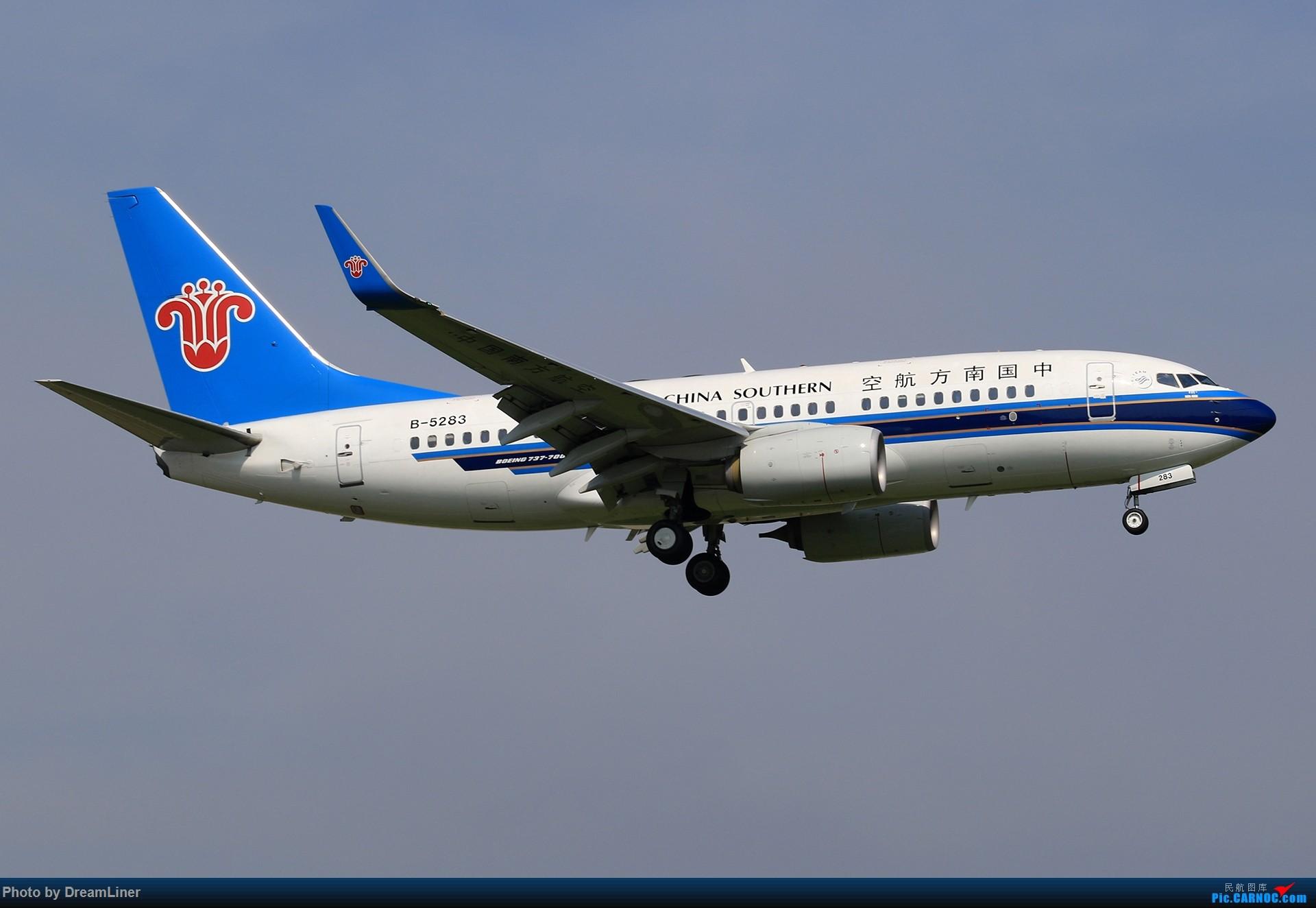 Re:[原创]【CAN】(7.17)发点小家伙 BOEING 737-700 B-5283 中国广州白云国际机场