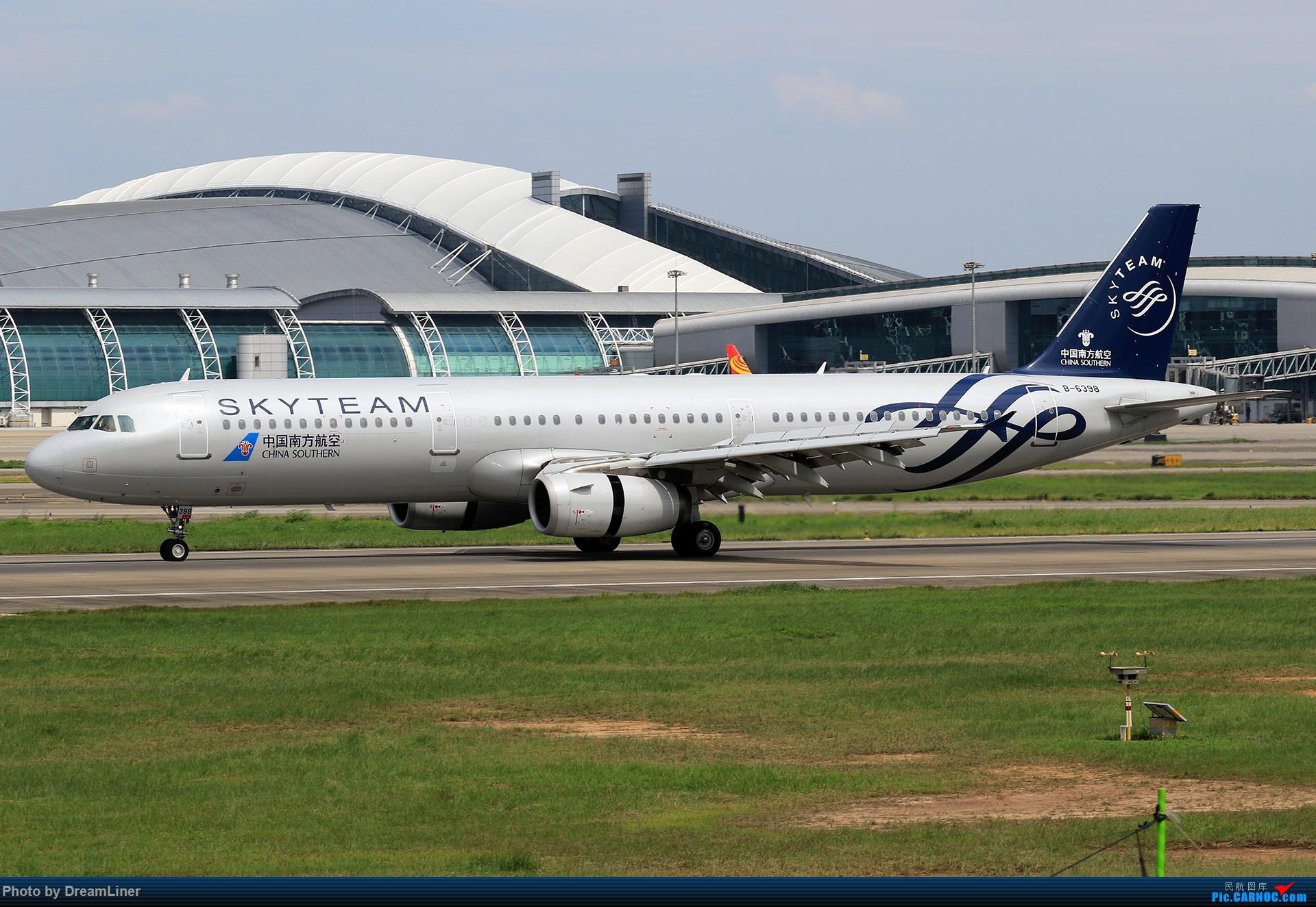 Re:[原创]【CAN】(7.17)发点小家伙 AIRBUS A321-200 B-6398 中国广州白云国际机场