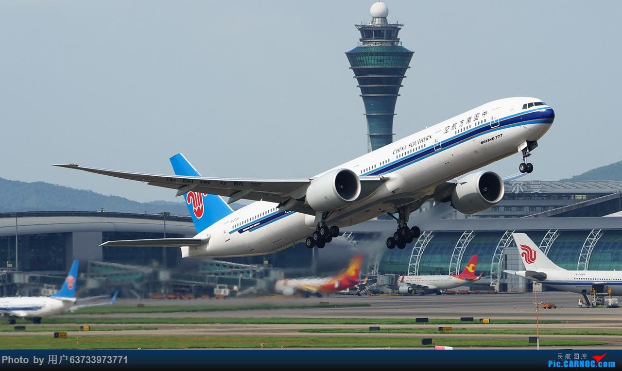 Re:[原创]SHE拍机 BOEING 777-300ER B-2009 中国广州白云国际机场