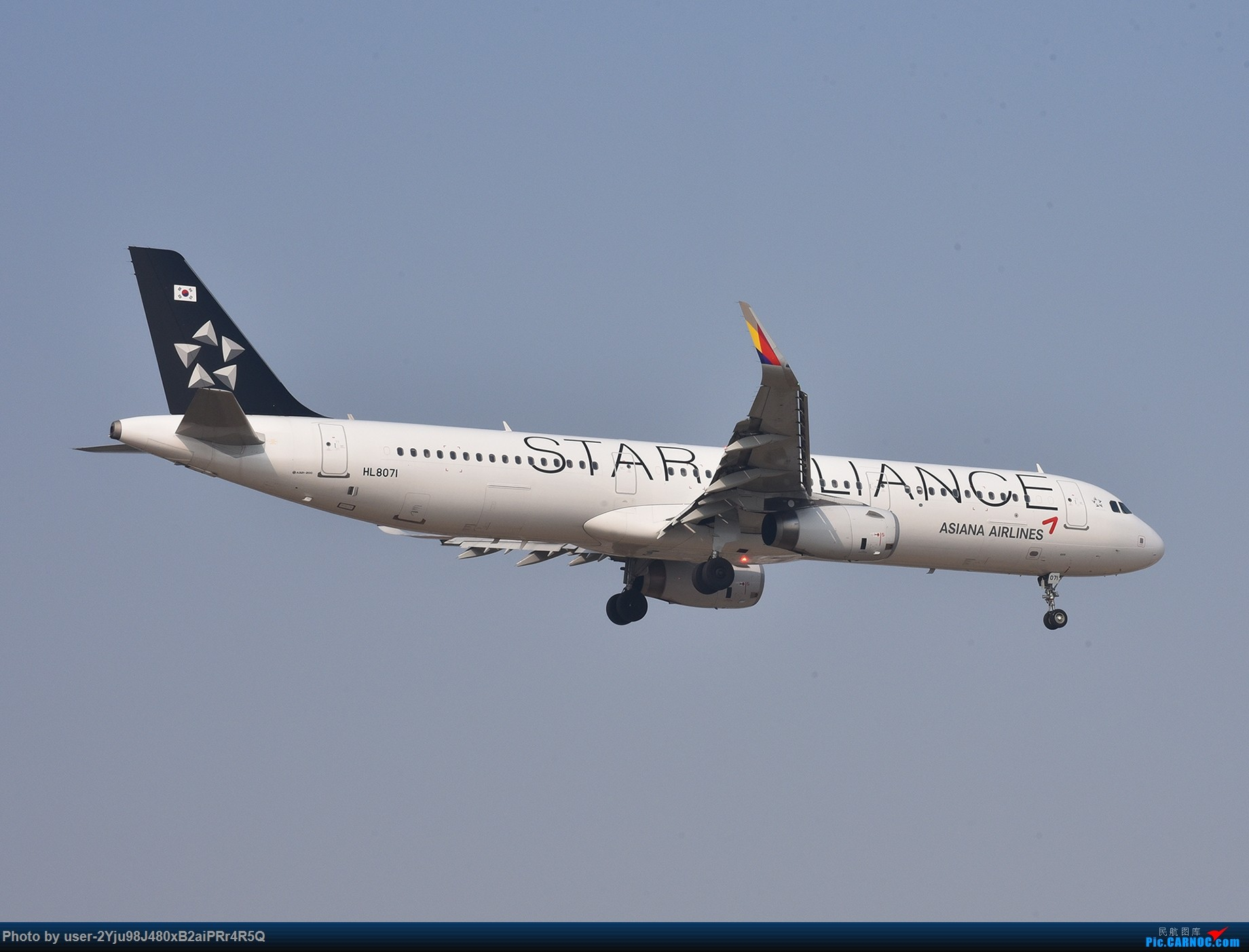 Re:[原创]一年前某天早上的PEK|01垃圾楼 AIRBUS A321 HL8071