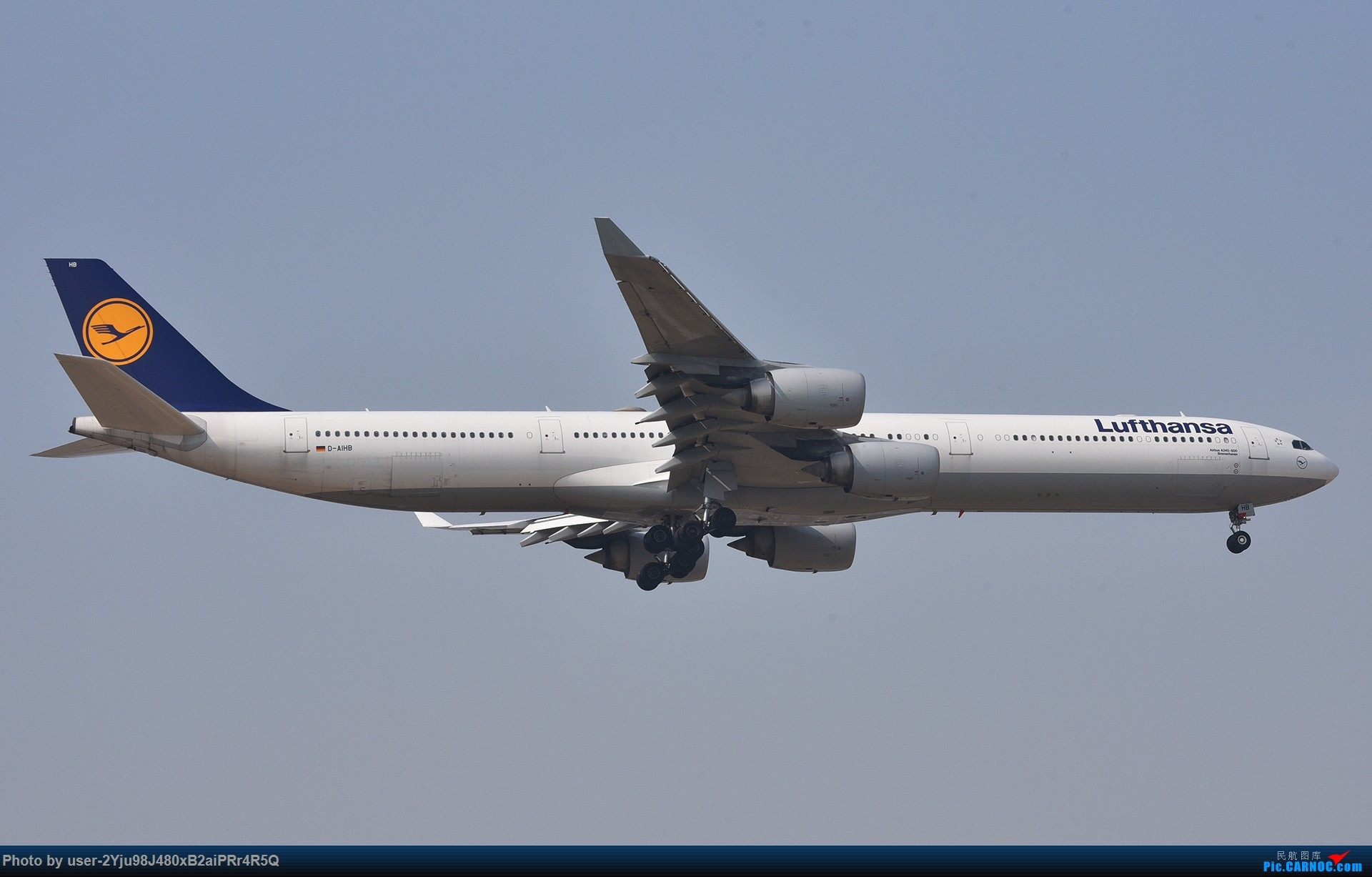 Re:[原创]一年前某天早上的PEK|01垃圾楼 AIRBUS A340-600 D-AIHB