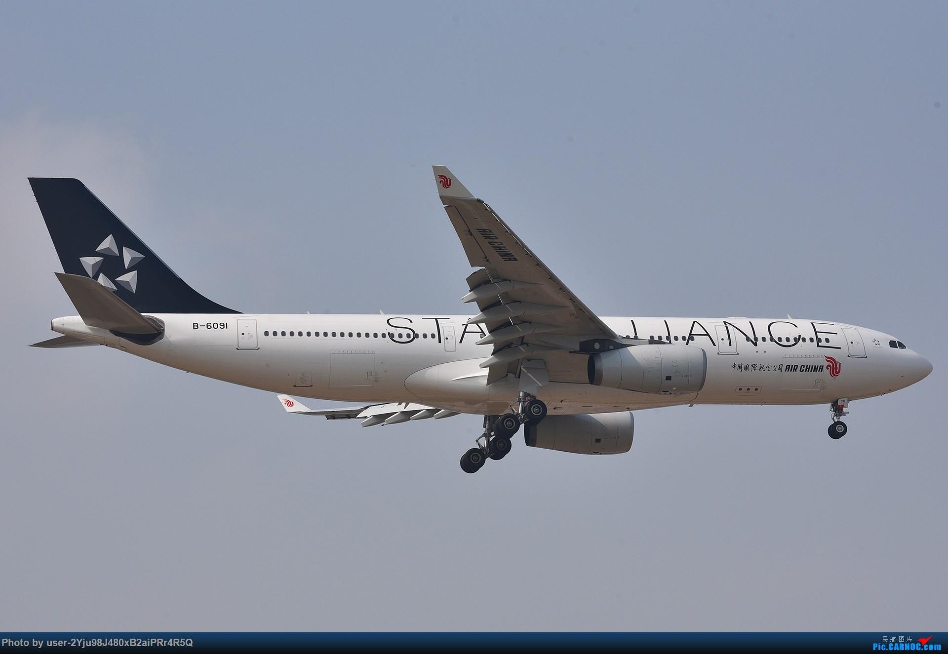 Re:[原创]一年前某天早上的PEK|01垃圾楼 AIRBUS A330-200 B-6091