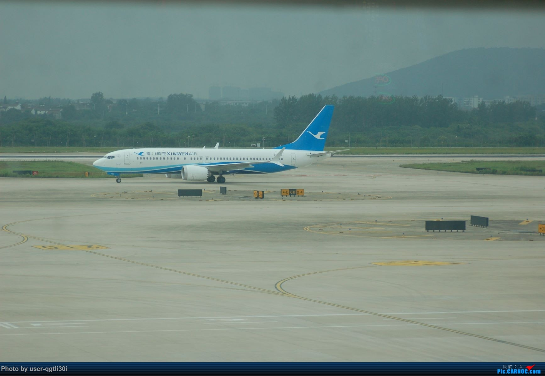 Re:[原创]NKG-HKG-YVR BOEING 737MAX-8 B-1289 NKG