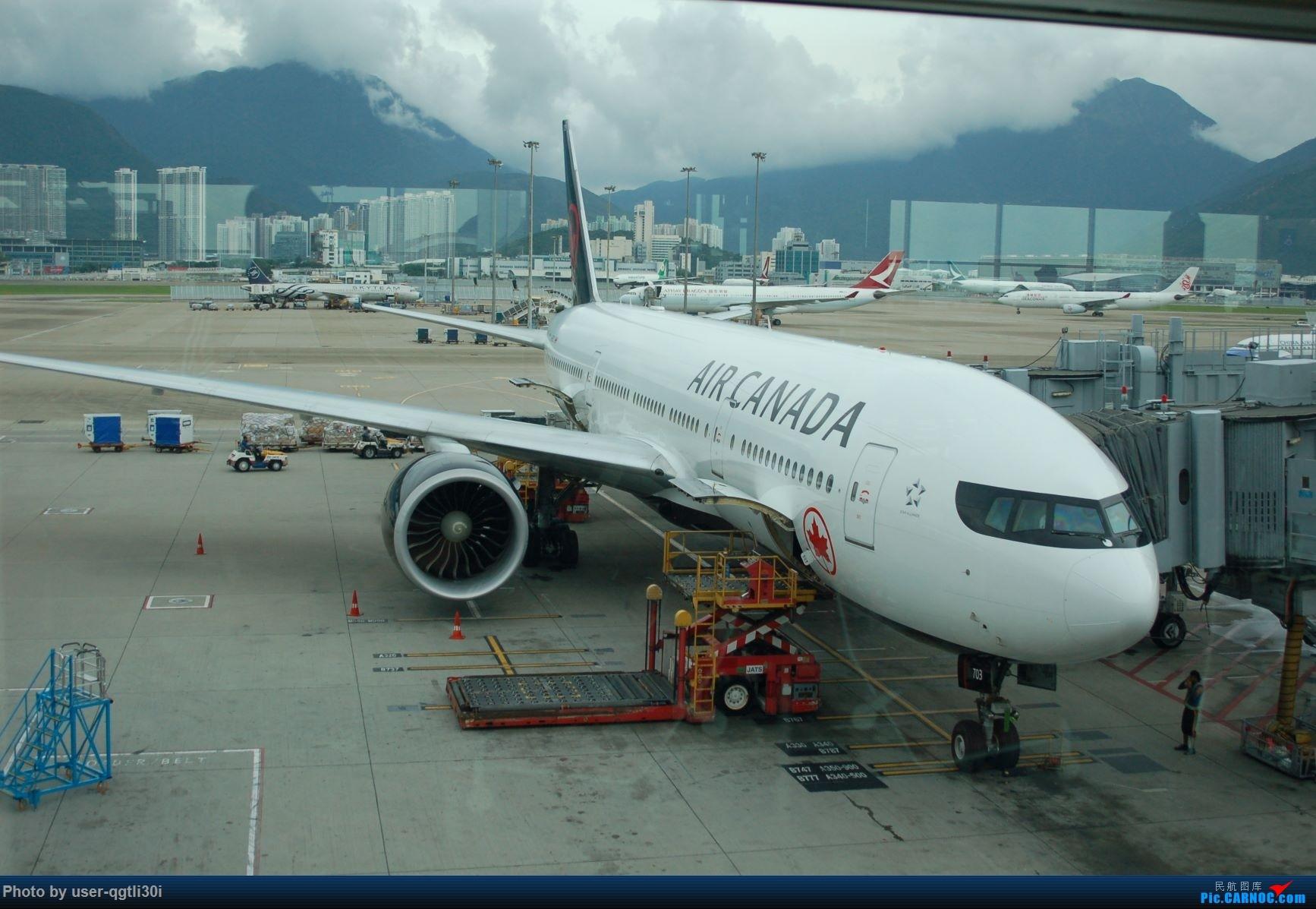Re:[原创]NKG-HKG-YVR BOEING 777-200LR  HKG