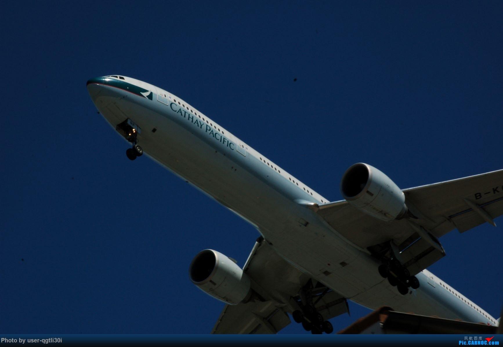 Re:[原创]NKG-HKG-YVR BOEING 777-300ER B-KQP YVR
