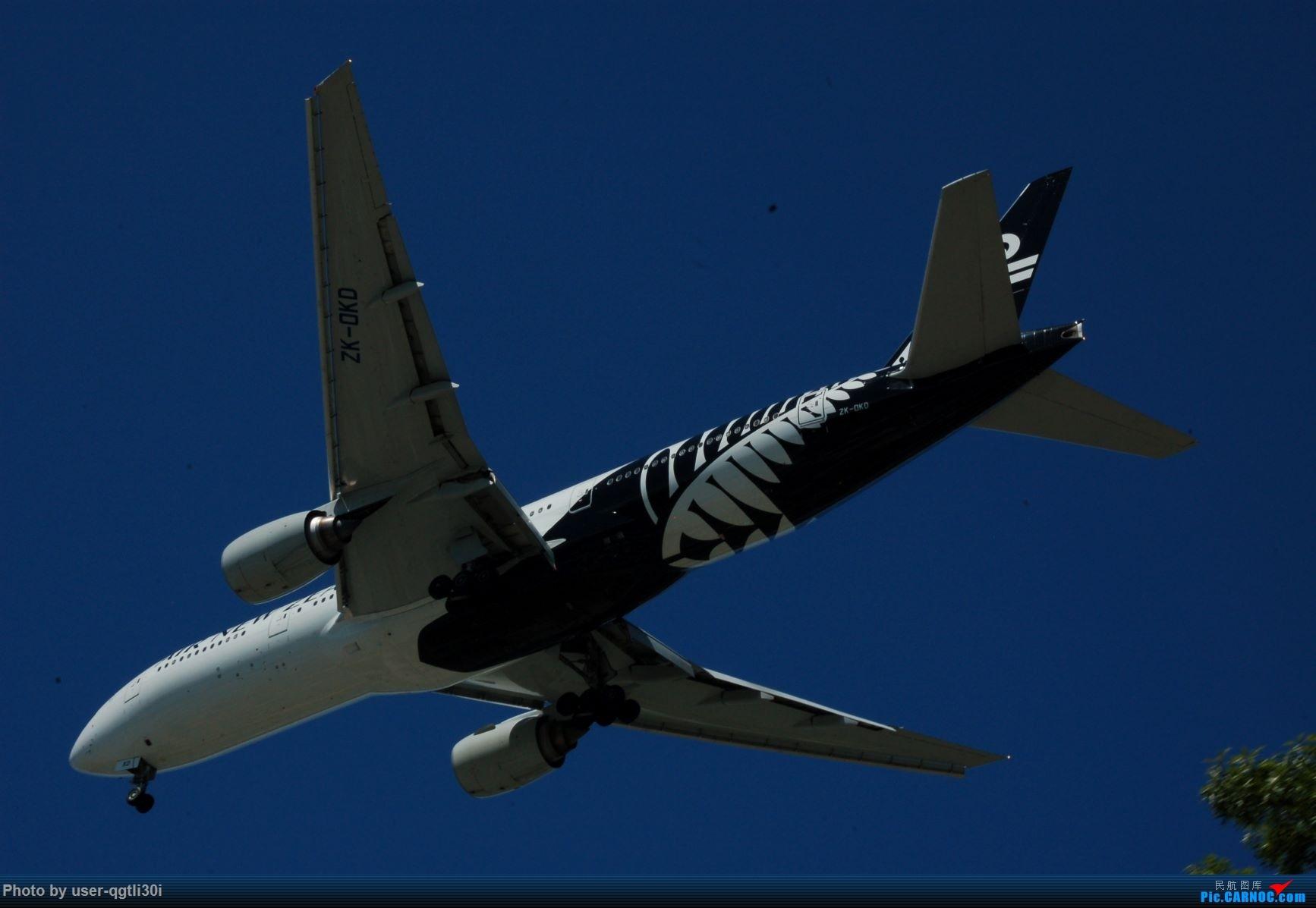 Re:[原创]NKG-HKG-YVR BOEING 777-200ER ZK-OKD YVR