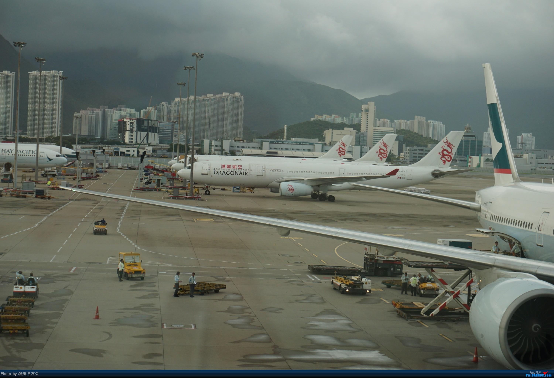 Re:[原创]骚年飞行篇~CX390 HKG-PEK 十一次乘坐77W ,第一次体验国泰航空,体验五星航空的云端服务,比较开心的行程 AIRBUS A330-300 B-HLJ 中国香港国际机场