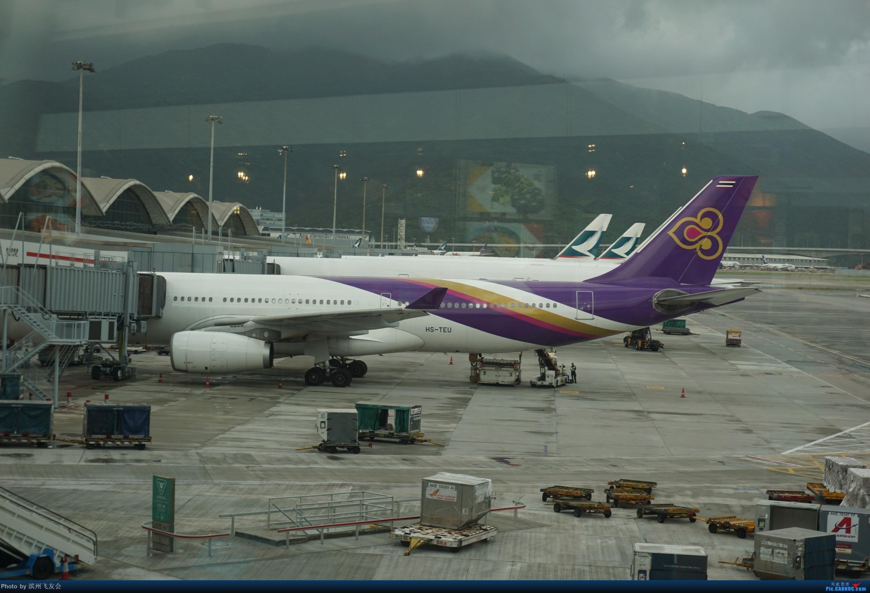 Re:[原创]骚年飞行篇~CX390 HKG-PEK 十一次乘坐77W ,第一次体验国泰航空,体验五星航空的云端服务,比较开心的行程 AIRBUS A330-300 HS-TEU 中国香港国际机场