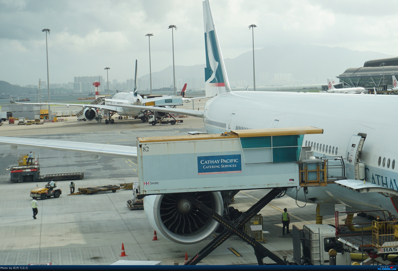 Re:[原创]骚年飞行篇~CX390 HKG-PEK 十一次乘坐77W ,第一次体验国泰航空,体验五星航空的云端服务,比较开心的行程 BOEING 777-300ER B-KPE 中国香港国际机场
