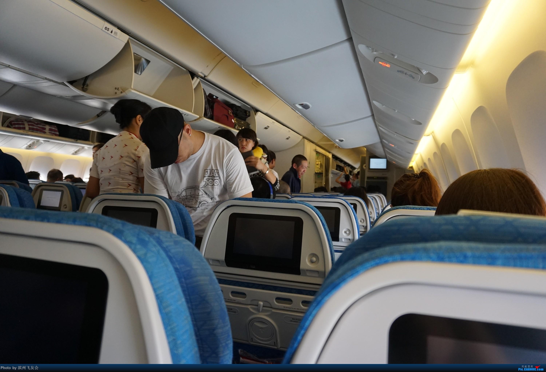 Re:[原创]骚年飞行篇~CX390 HKG-PEK 十一次乘坐77W ,第一次体验国泰航空,体验五星航空的云端服务,比较开心的行程