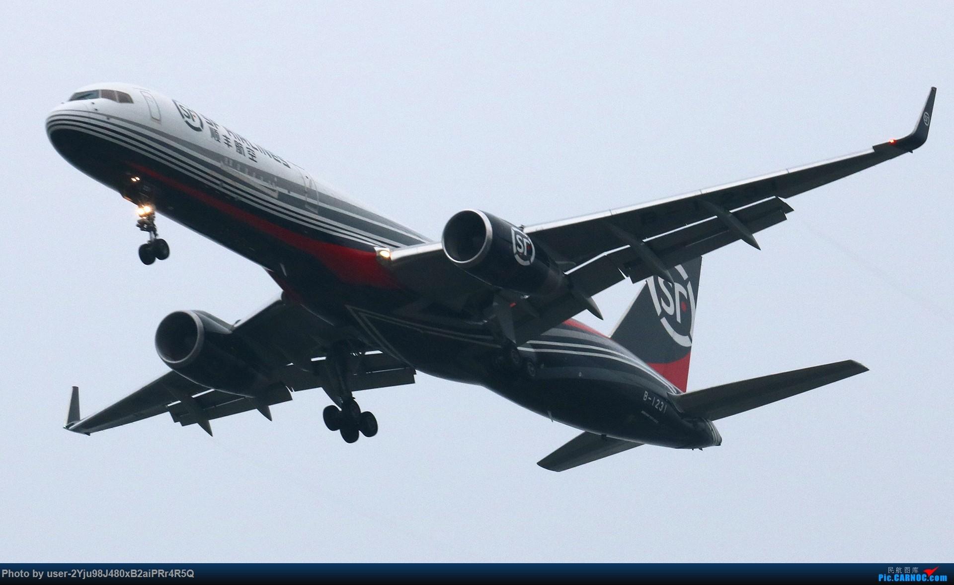 [原创]PEK|01|36R|天空多灰,它们亦放亮 BOEING 757-200 B-1231