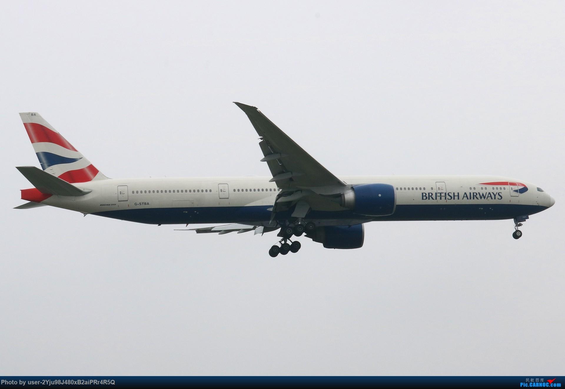 Re:[原创]PEK|01|36R|天空多灰,它们亦放亮 BOEING 777-300ER G-STBA