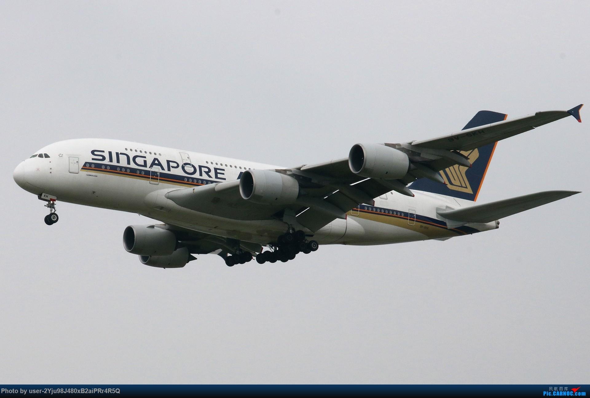 Re:[原创]PEK|01|36R|天空多灰,它们亦放亮 AIRBUS A380-800 9V-SKH