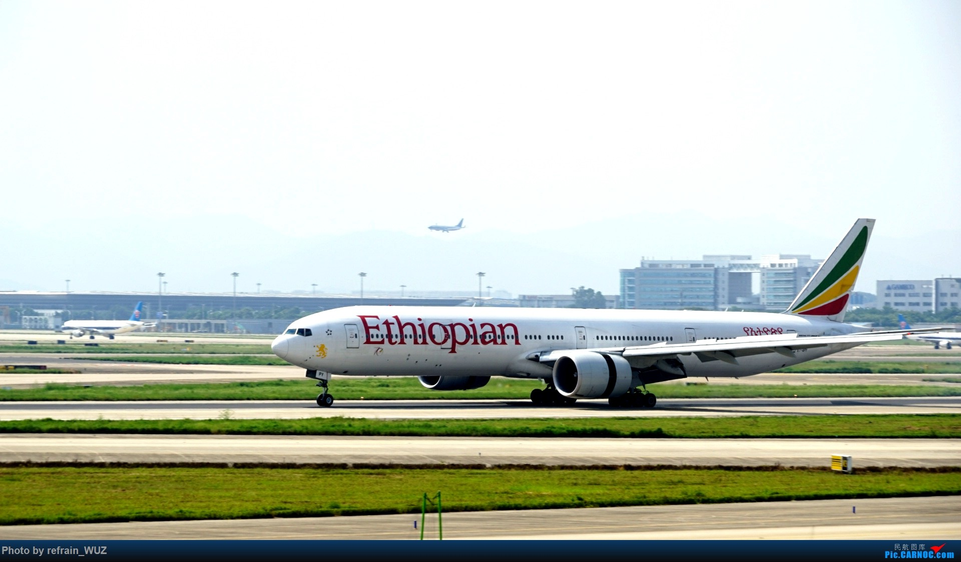 Re:[原创]CAN白云打机,全部系大嘢,最长的最粗的都有了! BOEING 777-300ER EA-APY 中国广州白云国际机场