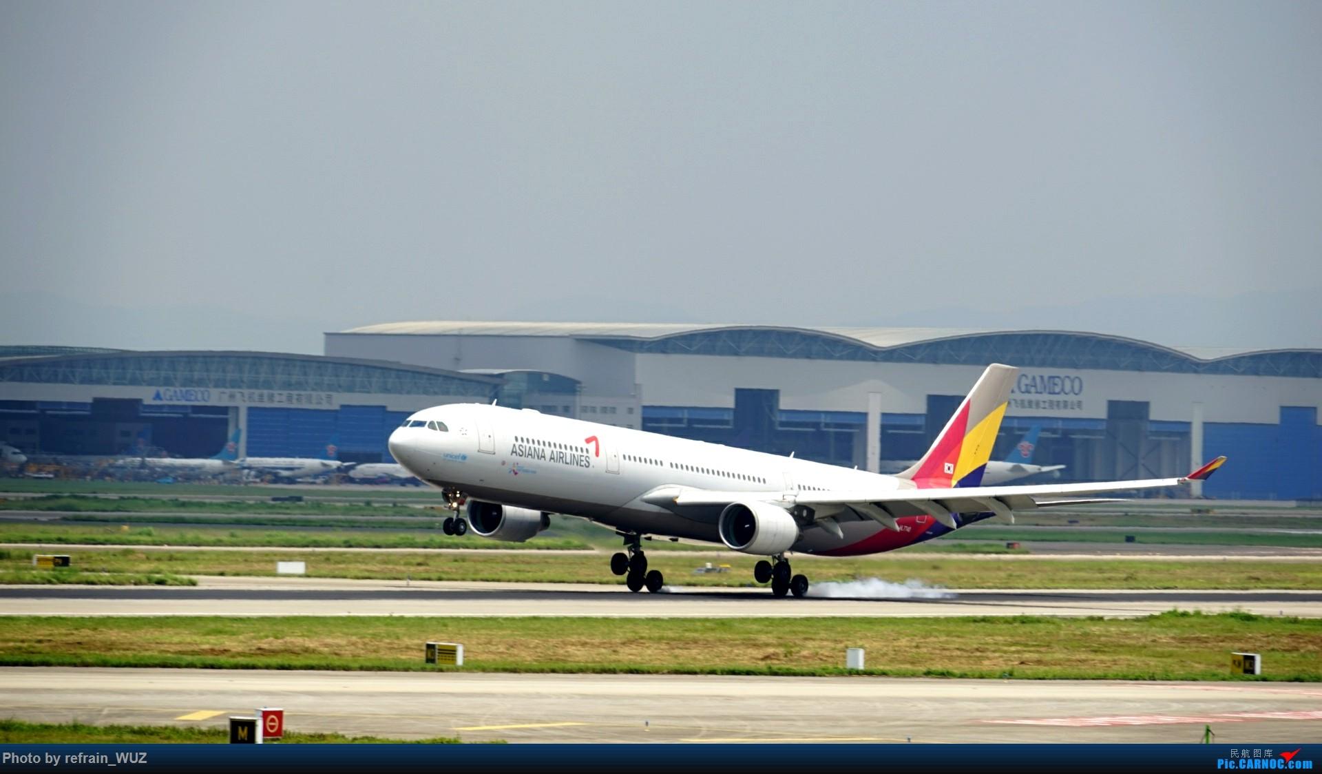 Re:[原创]CAN白云打机,全部系大嘢,最长的最粗的都有了! AIRBUS A330-300 HL7740 中国广州白云国际机场