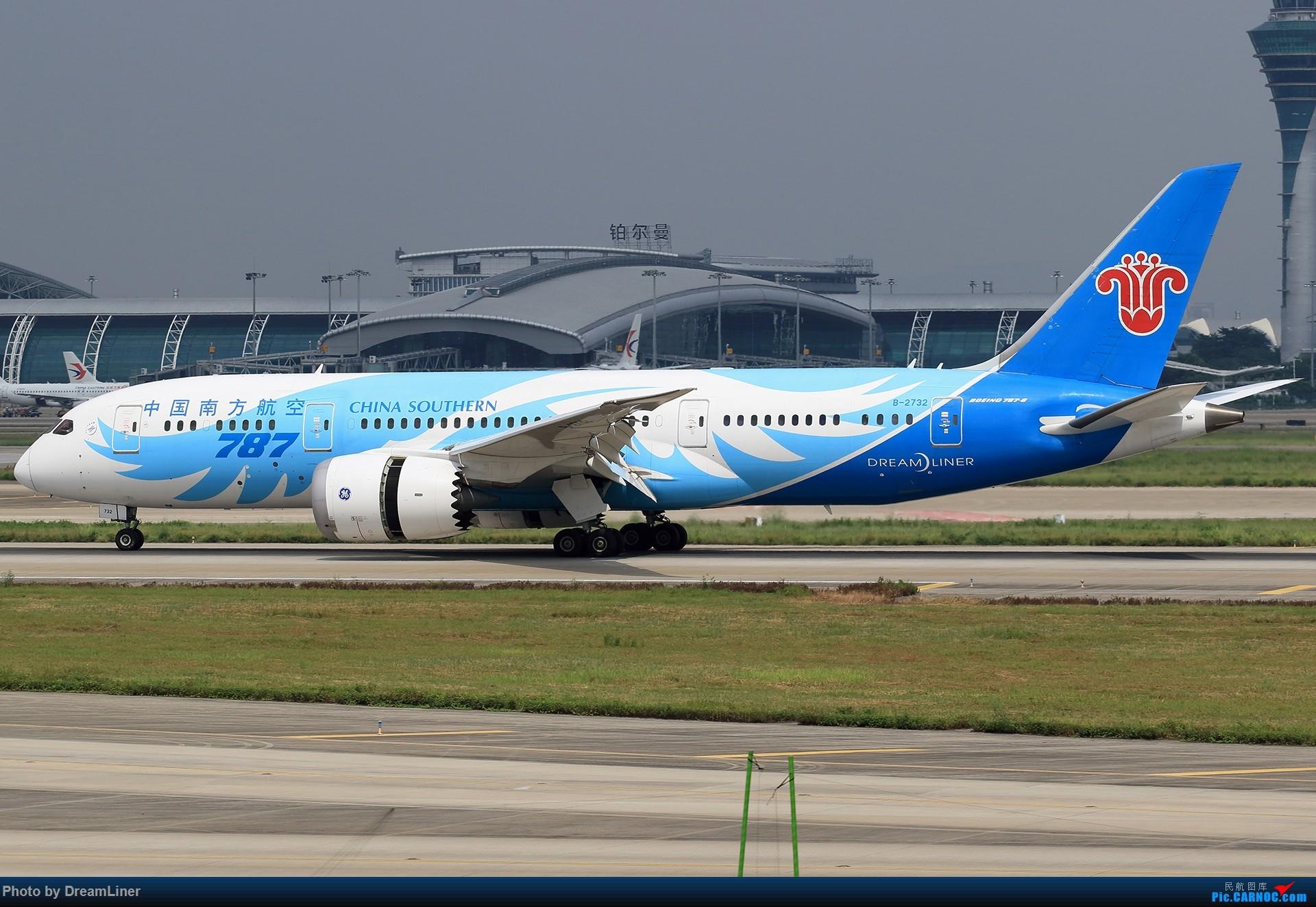 Re:[原创]【CAN】7.29东跑打鸟一小时,初尝使用RAW BOEING 787-8 B-2732 中国广州白云国际机场