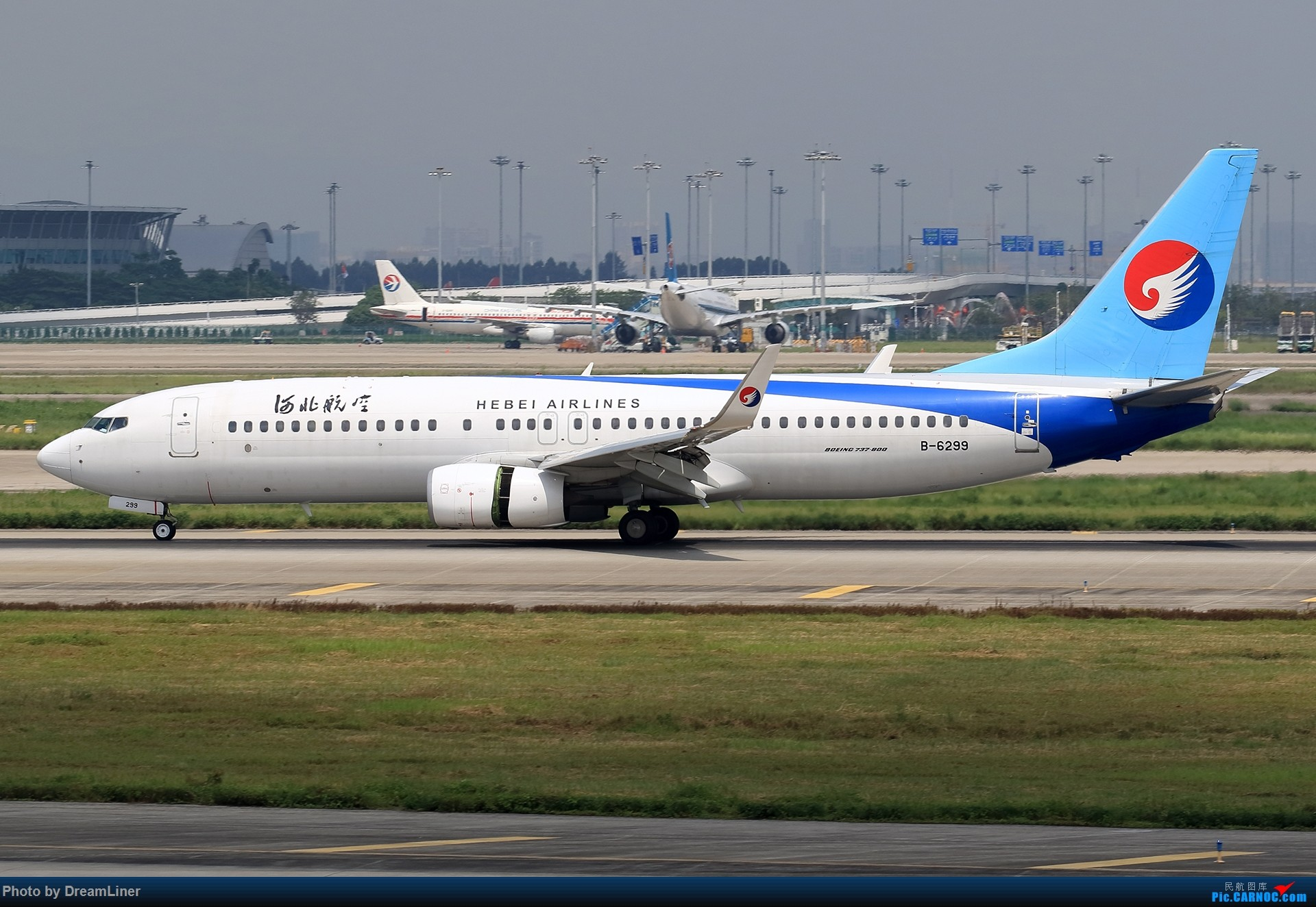 Re:[原创]【CAN】7.29东跑打鸟一小时,初尝使用RAW BOEING 737-800 B-6299 中国广州白云国际机场