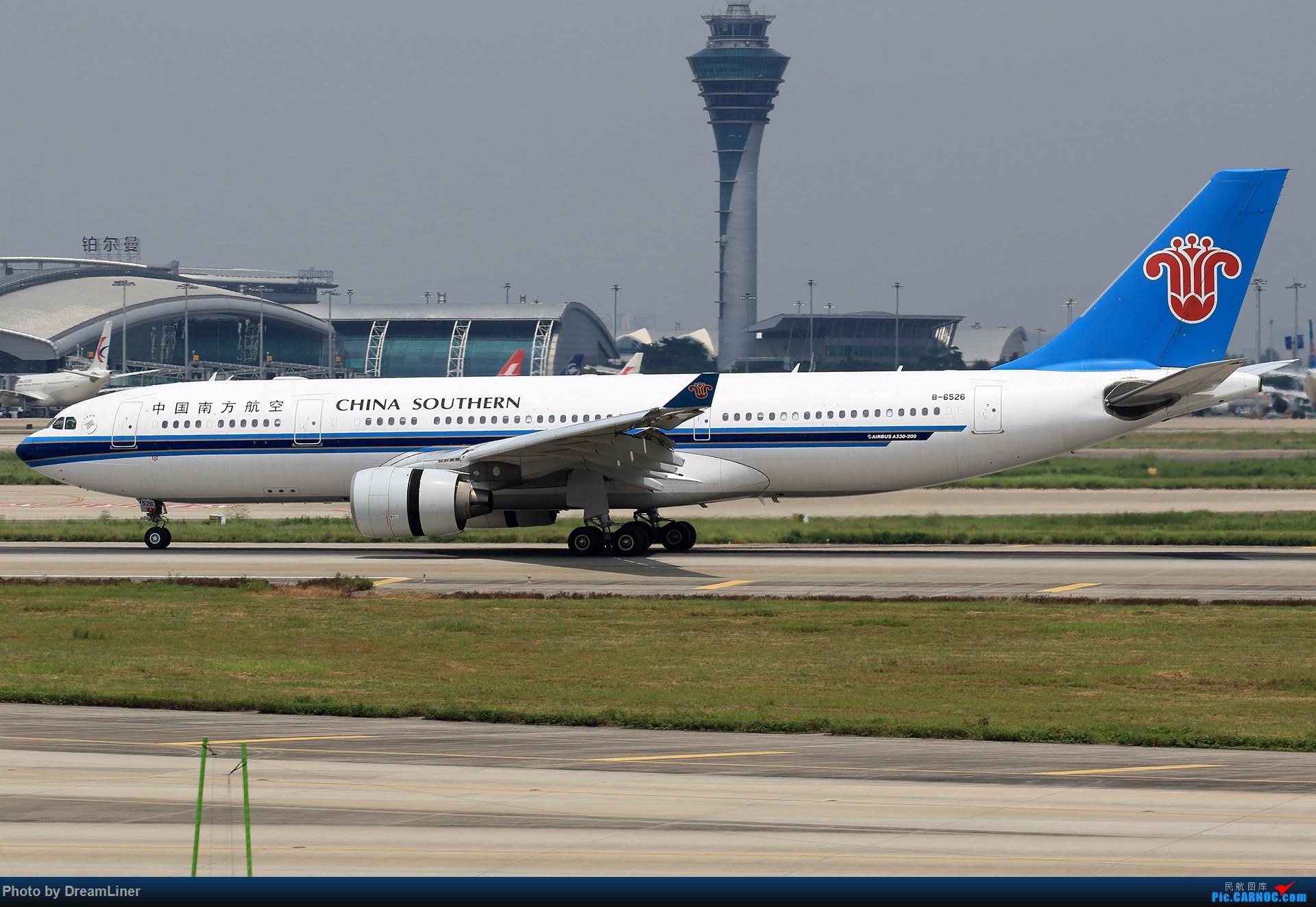 Re:[原创]【CAN】7.29东跑打鸟一小时,初尝使用RAW AIRBUS A330-200 B-6526 中国广州白云国际机场