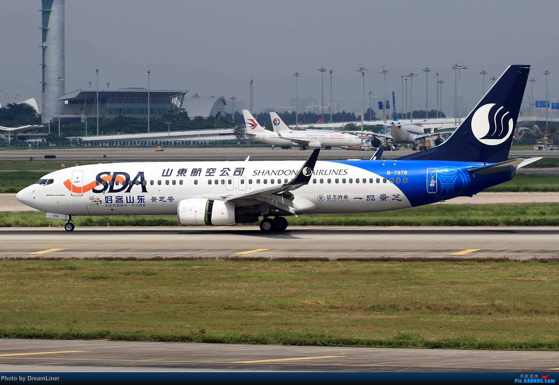Re:[原创]【CAN】7.29东跑打鸟一小时,初尝使用RAW BOEING 737-800 B-7978 中国广州白云国际机场
