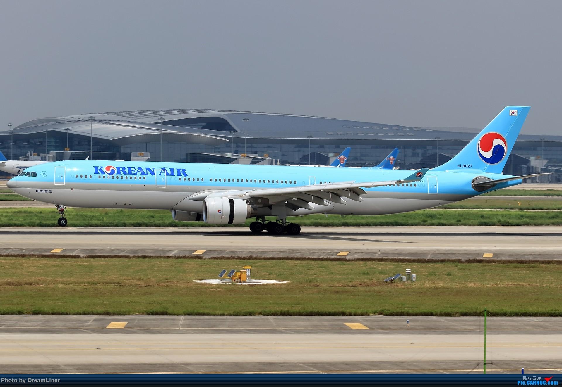 Re:[原创]【CAN】7.29东跑打鸟一小时,初尝使用RAW AIRBUS A330-300 HL8027 中国广州白云国际机场