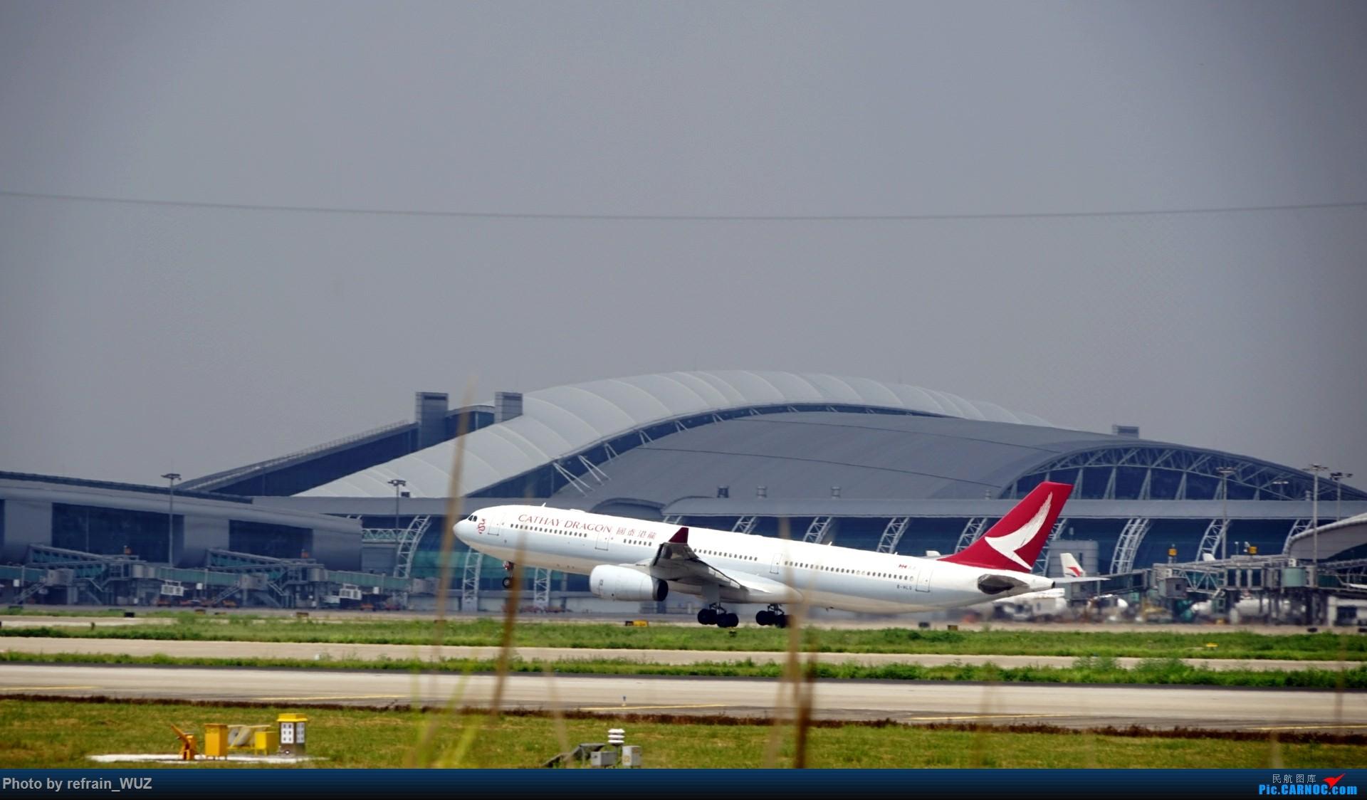 Re:[原创]CAN白云打机,全部系大嘢,最长的最粗的都有了! AIRBUS A330-300 B-WLG 中国广州白云国际机场