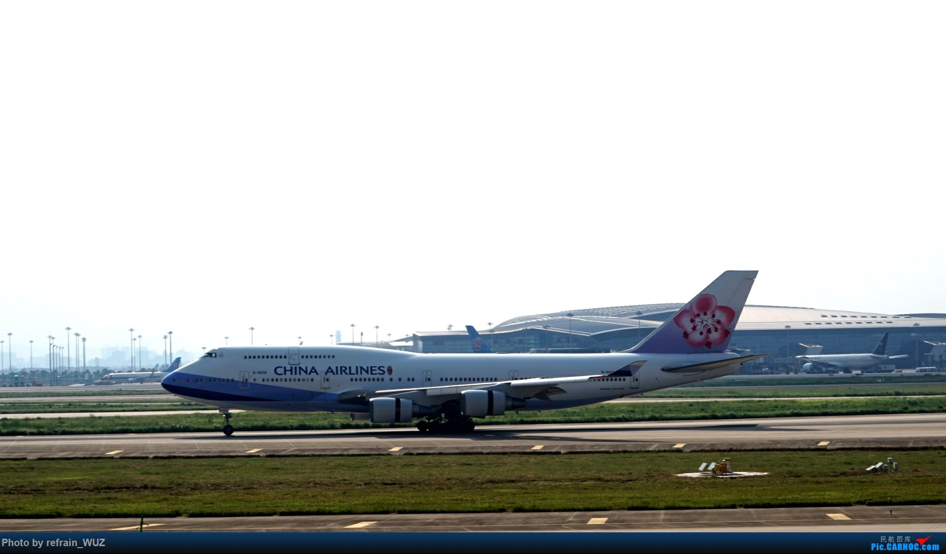 Re:CAN白云打机,全部系大嘢,最长的最粗的都有了! BOEING 747-400 B-18210 中国广州白云国际机场