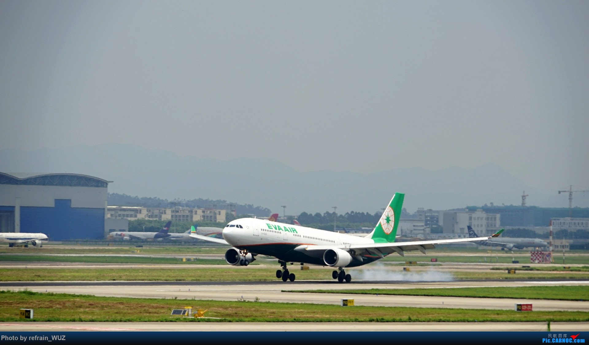 Re:[原创]CAN白云打机,全部系大嘢,最长的最粗的都有了! AIRBUS A330-200 B-16310 中国广州白云国际机场