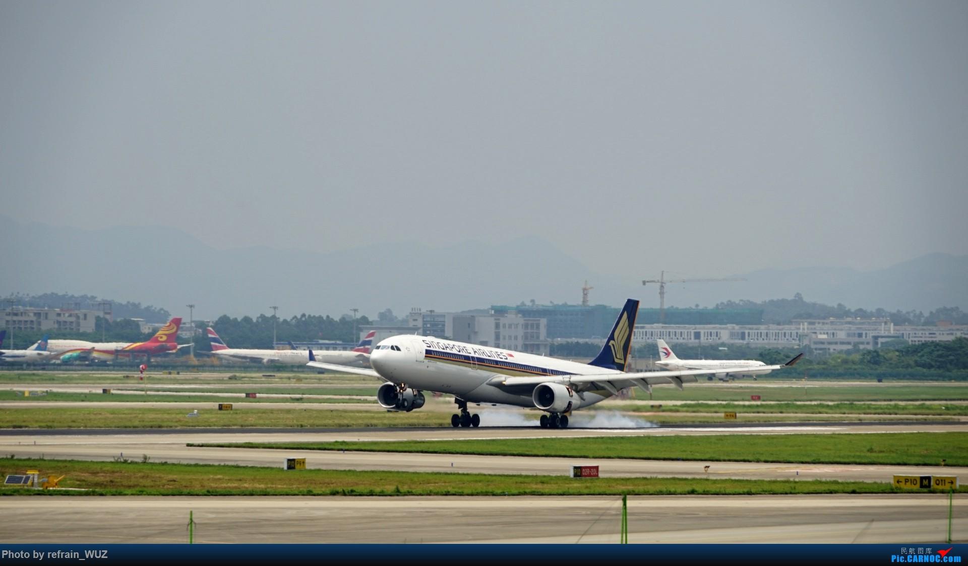 Re:[原创]CAN白云打机,全部系大嘢,最长的最粗的都有了! AIRBUS A330-300 9V-STZ 中国广州白云国际机场