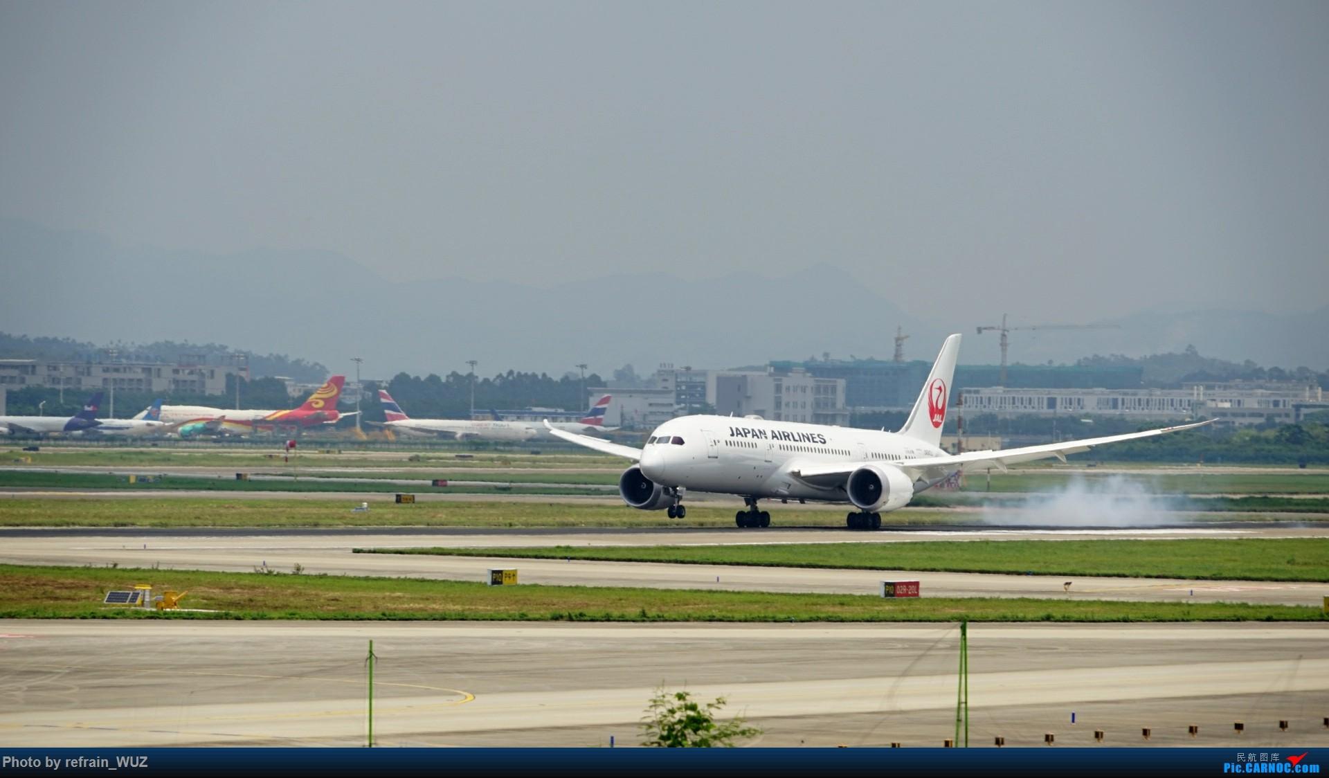 Re:[原创]CAN白云打机,全部系大嘢,最长的最粗的都有了! BOEING 787-8 JA843J 中国广州白云国际机场