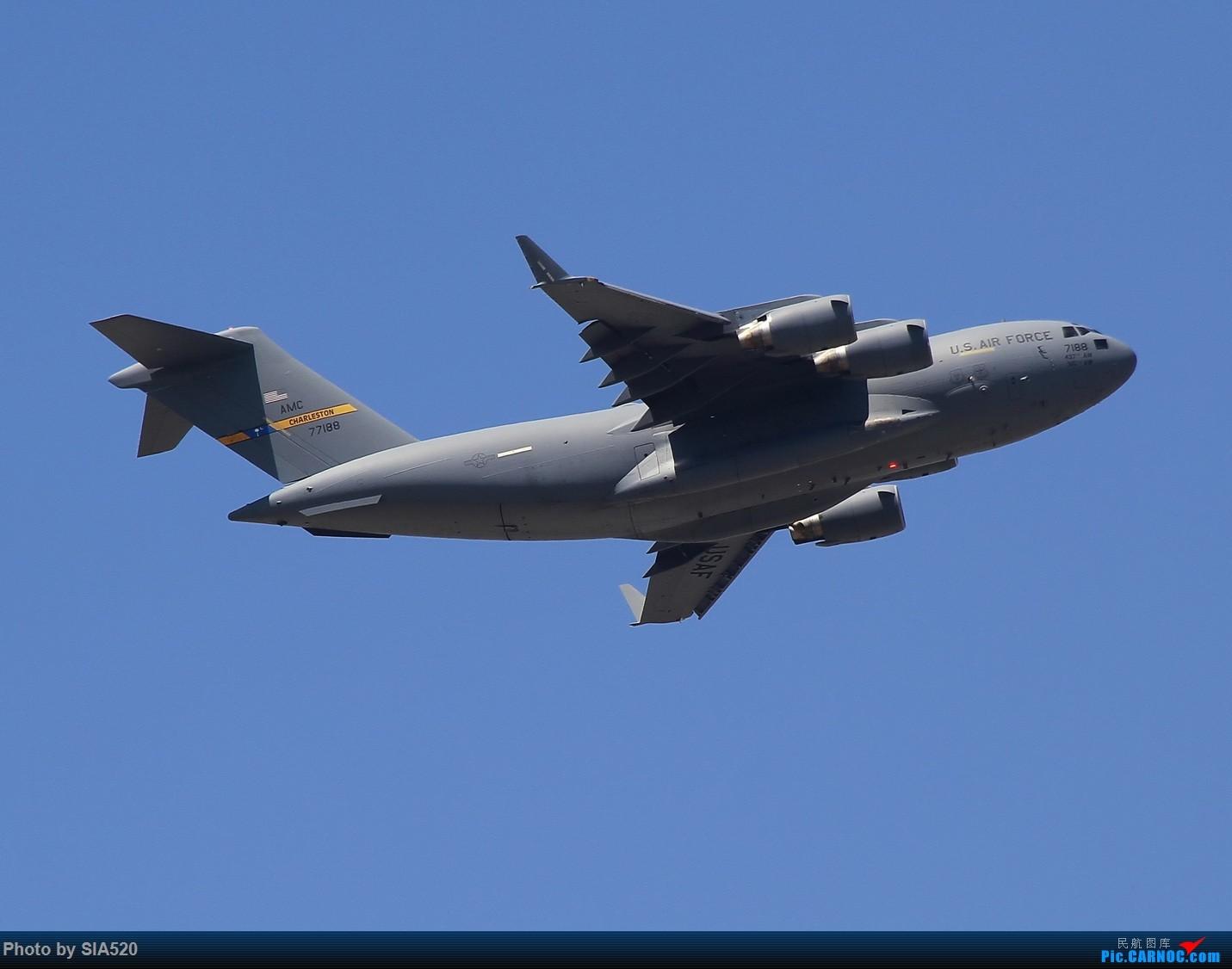 [原创]ZBAA~萌新重度拖延症~~~~ C-17GLOBEMASTER III 77188 中国北京首都国际机场