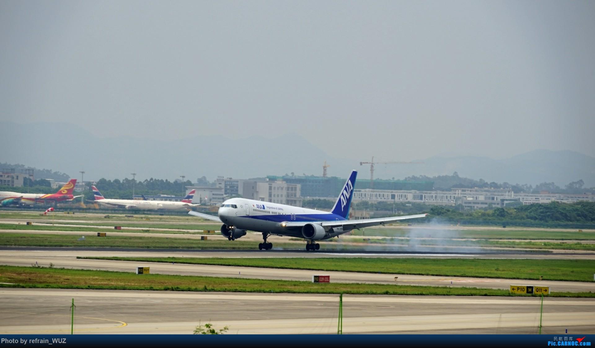Re:CAN白云打机,全部系大嘢,最长的最粗的都有了! BOEING 767 JA612A 中国广州白云国际机场