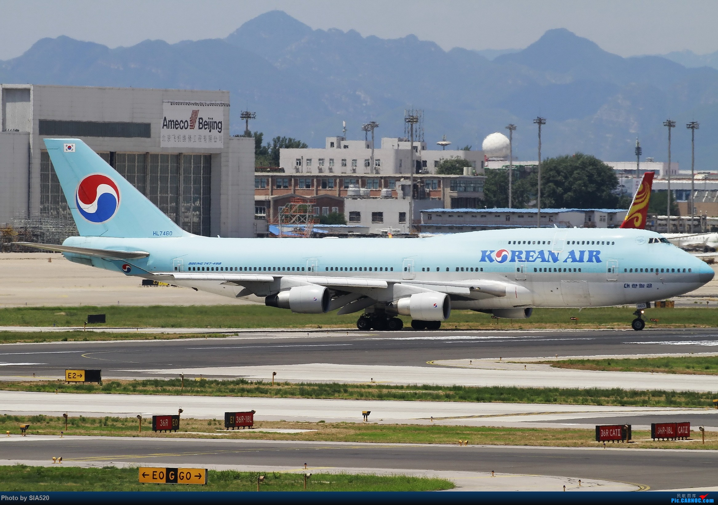 Re:[原创]ZBAA~萌新重度拖延症~~~~ BOEING 747-400 HL7460 中国北京首都国际机场