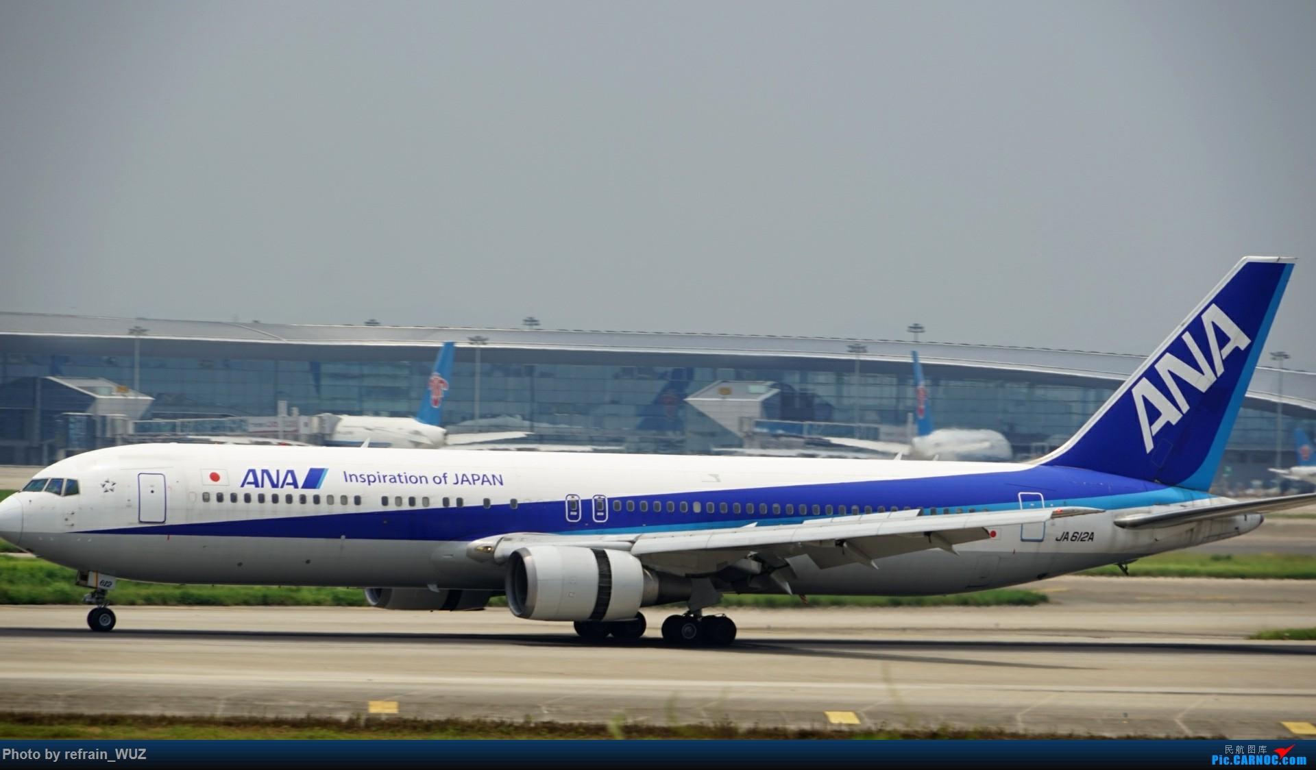 Re:[原创]CAN白云打机,全部系大嘢,最长的最粗的都有了! BOEING 767 JA612A 中国广州白云国际机场