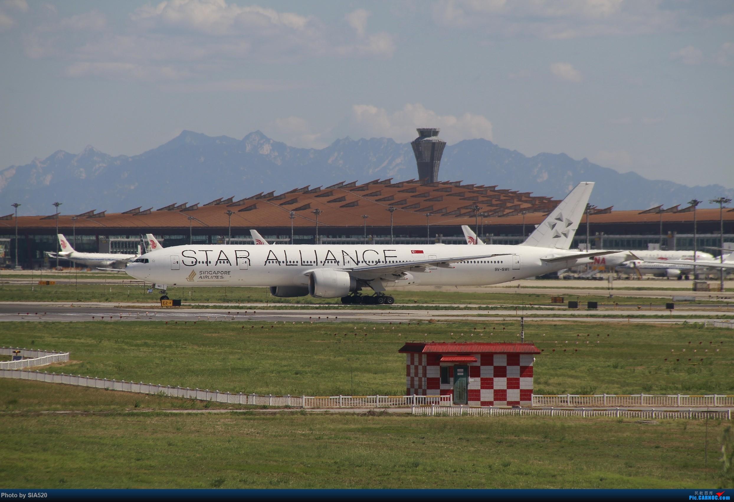 Re:[原创]ZBAA~萌新重度拖延症~~~~ BOEING 777-300ER 9V-SWI 中国北京首都国际机场