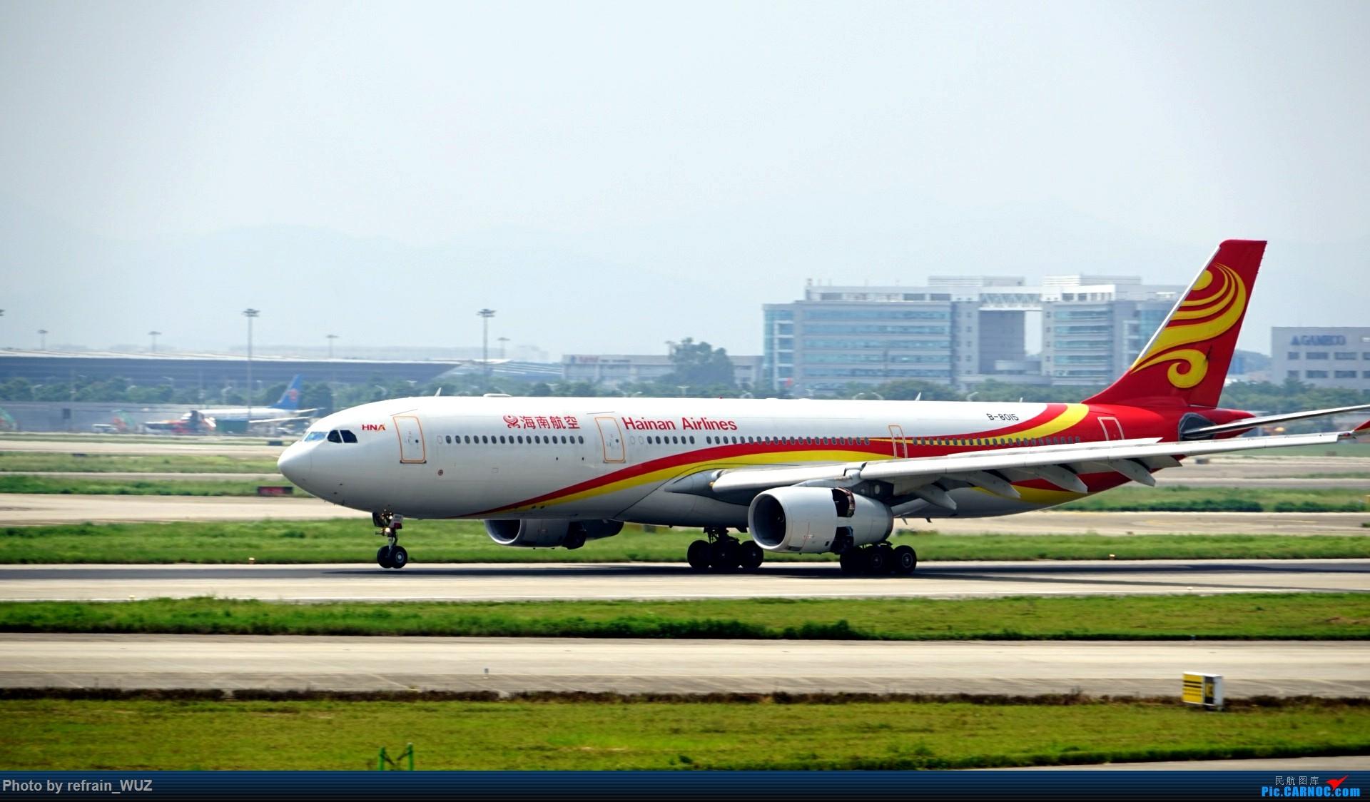 Re:[原创]CAN白云打机,全部系大嘢,最长的最粗的都有了! AIRBUS A330-300 B-8015 中国广州白云国际机场