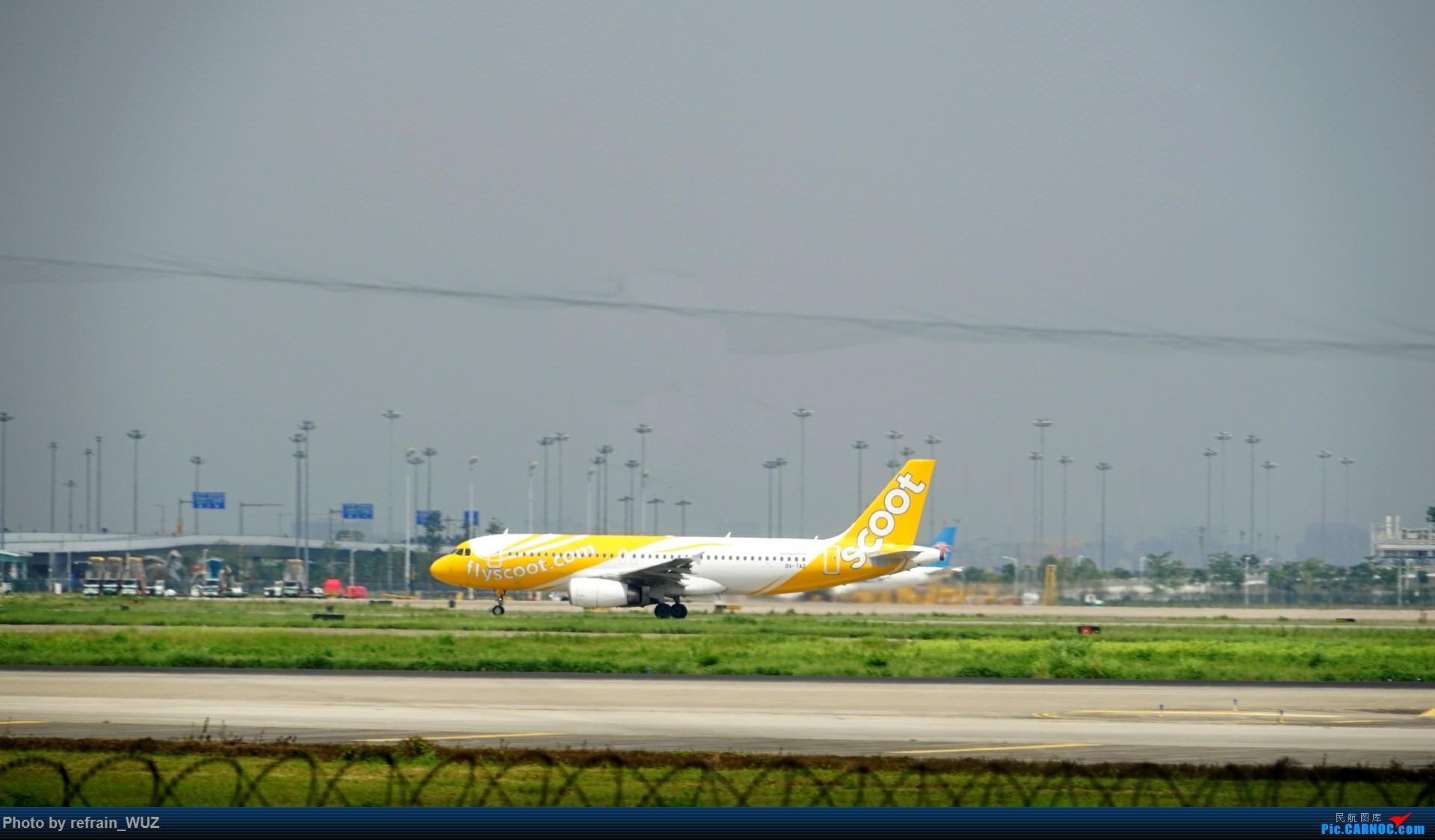 Re:[原创]CAN白云打机,全部系大嘢,最长的最粗的都有了! AIRBUS A320-200 9V-TAZ 中国广州白云国际机场