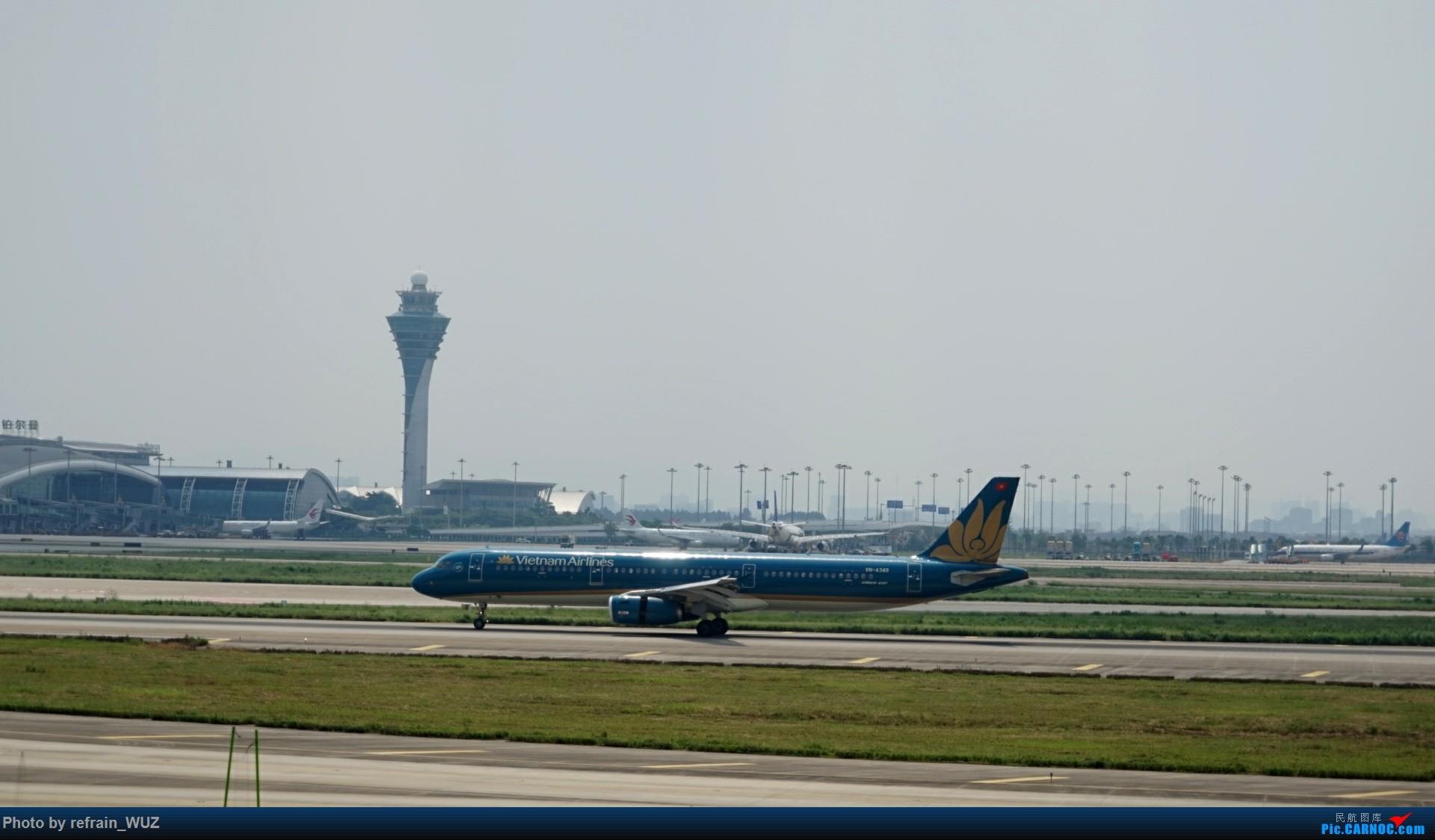 Re:[原创]CAN白云打机,全部系大嘢,最长的最粗的都有了! AIRBUS A321 VN-A349 中国广州白云国际机场
