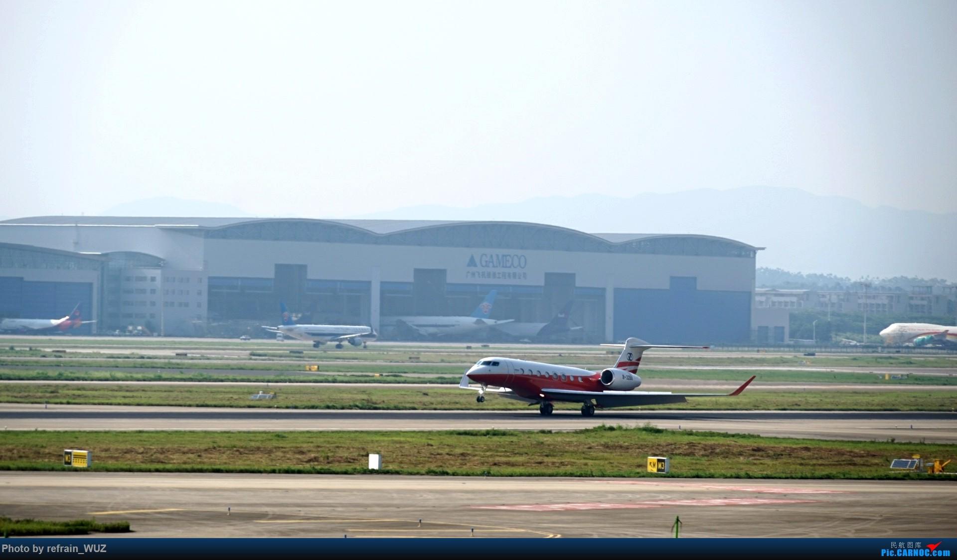 Re:CAN白云打机,全部系大嘢,最长的最粗的都有了! GULFSTREAM G650 B-3288 中国广州白云国际机场