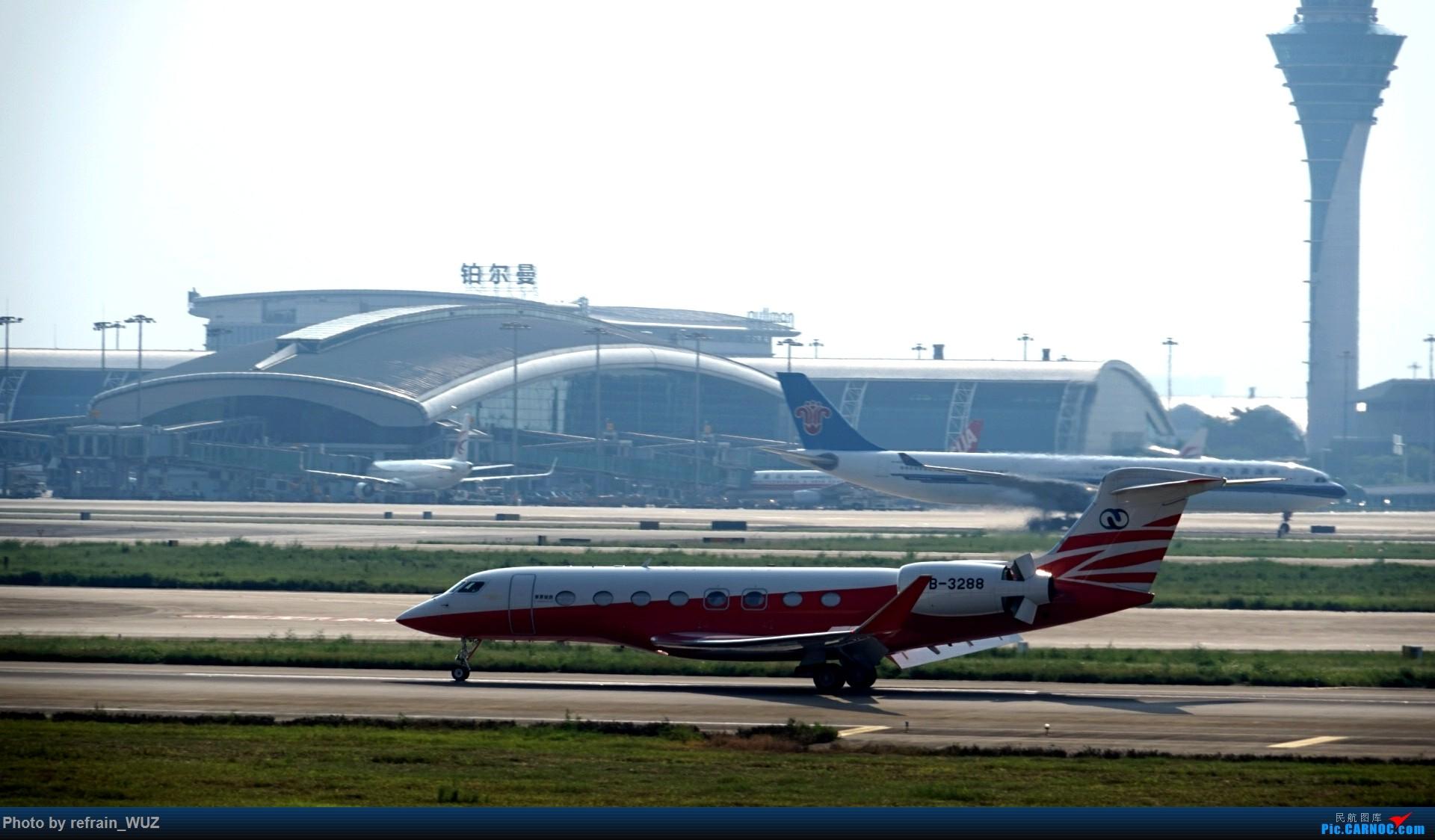 Re:[原创]CAN白云打机,全部系大嘢,最长的最粗的都有了! GULFSTREAM G650 B-3288 中国广州白云国际机场