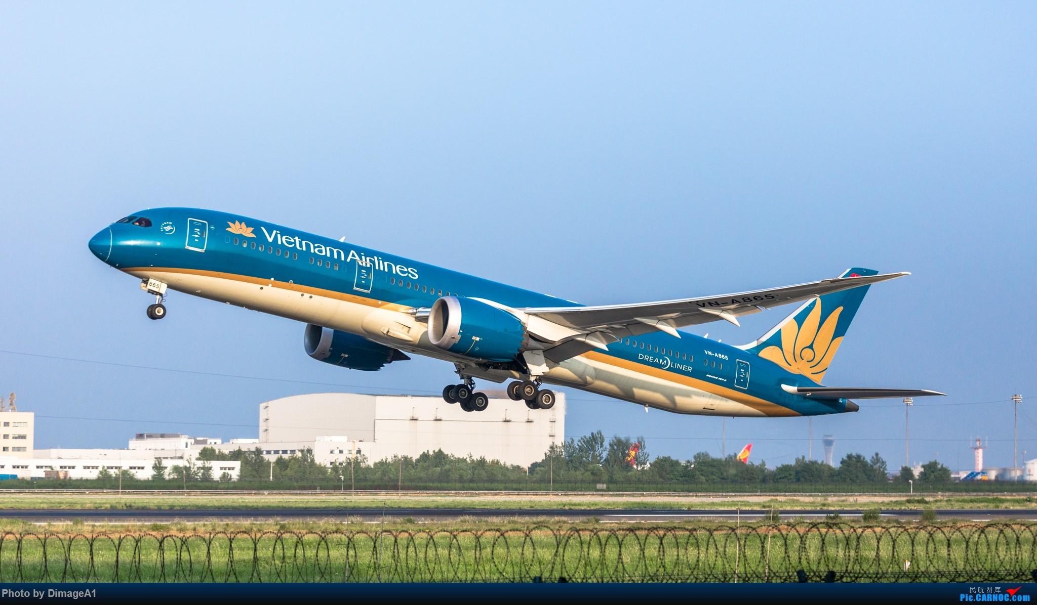 Re:越南航空789 BOEING 787-9 A865 中国北京首都国际机场