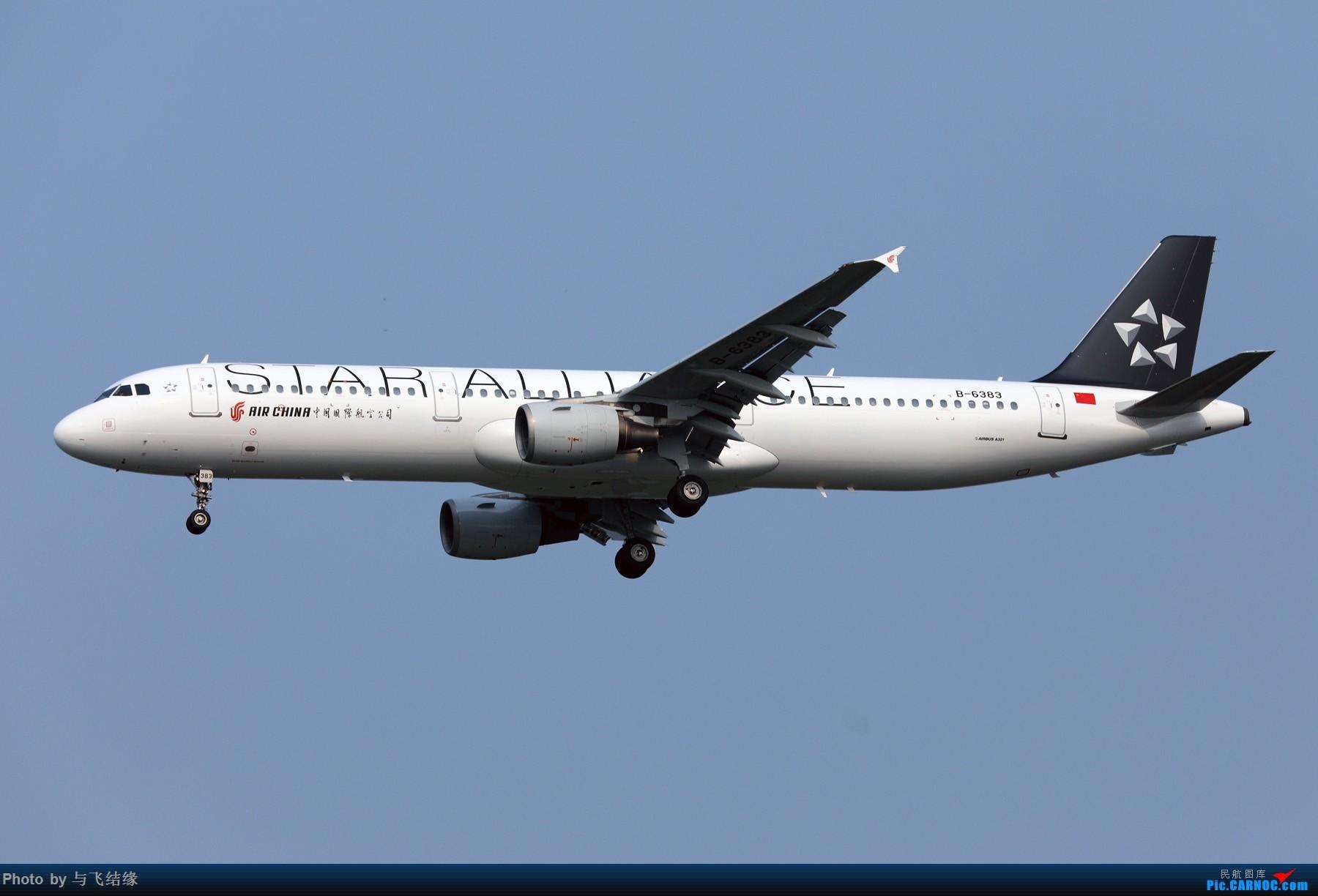 Re:[原创]中国国际航空Airbus A321-200星空联盟涂装B-6383. AIRBUS A321-200 B-6383 中国北京首都国际机场