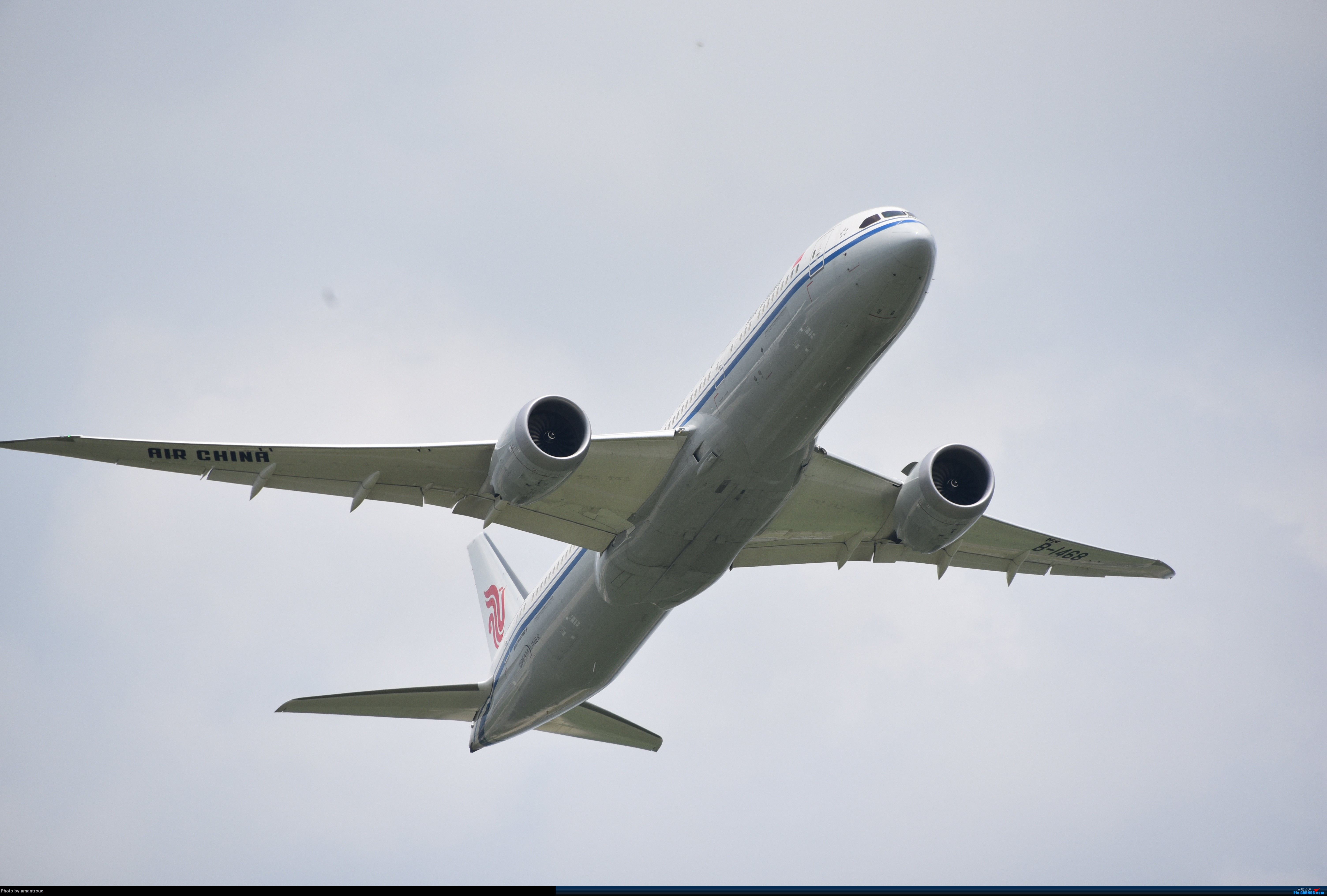 Re:[原创]ZSSS 肚皮一组 BOEING 787-9 B-1468 中国上海虹桥国际机场