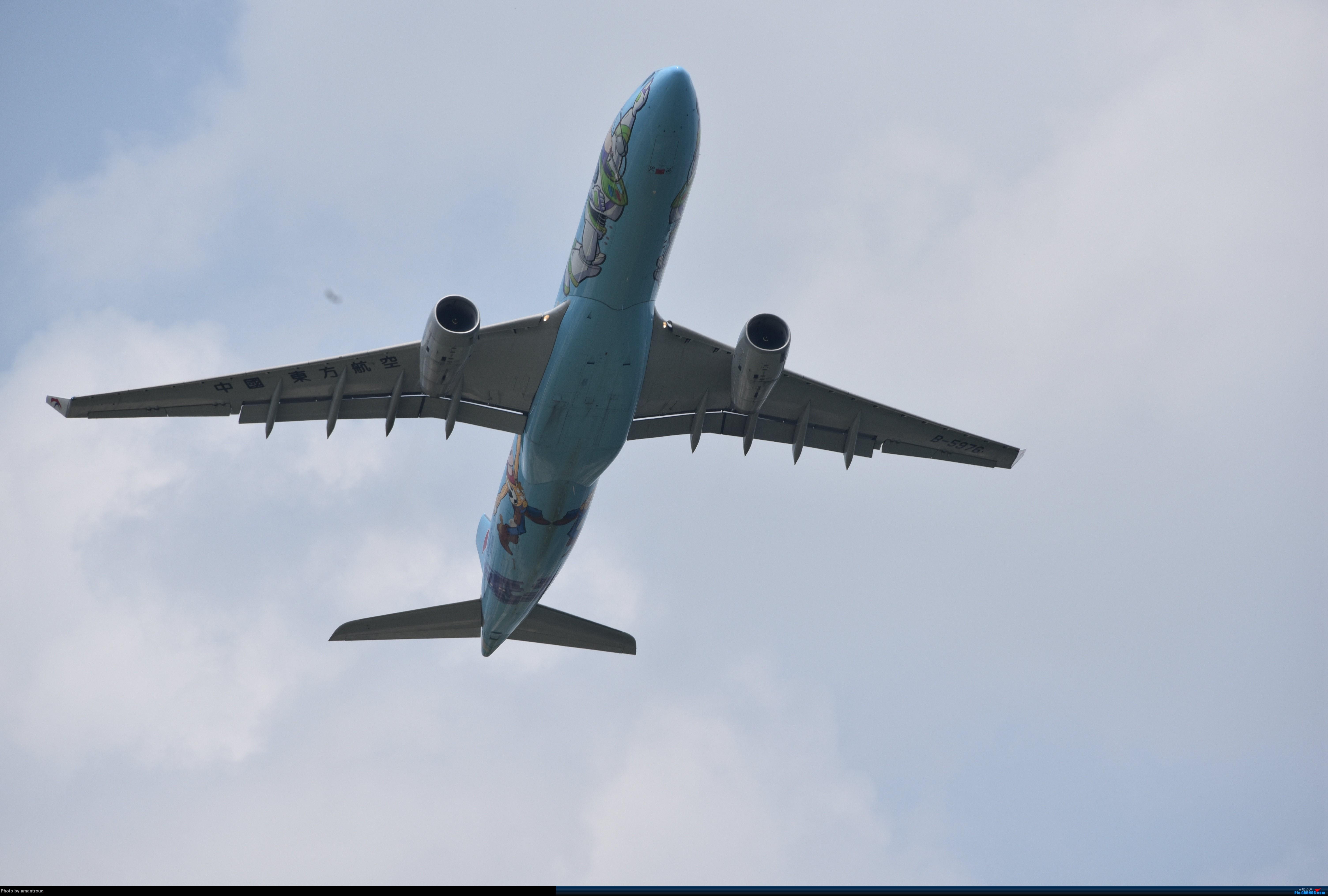 Re:[原创]ZSSS 肚皮一组 AIRBUS A330-300 B-5976 中国上海虹桥国际机场