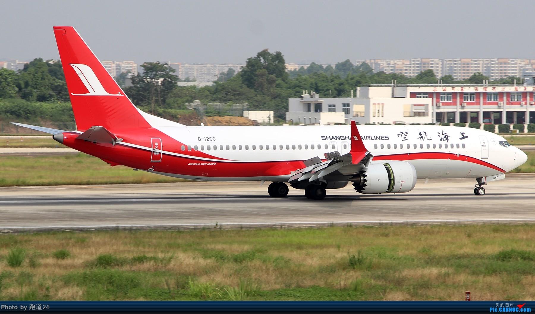 Re:[原创]【多图党】8.5CTU拍机 BOEING 737MAX-8 B-1260 中国成都双流国际机场
