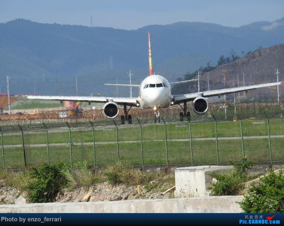 Re:[原创]【KWE】贵阳龙洞堡机场继续找位置拍飞机 AIRBUS A320-200 B-6947 中国贵阳龙洞堡国际机场